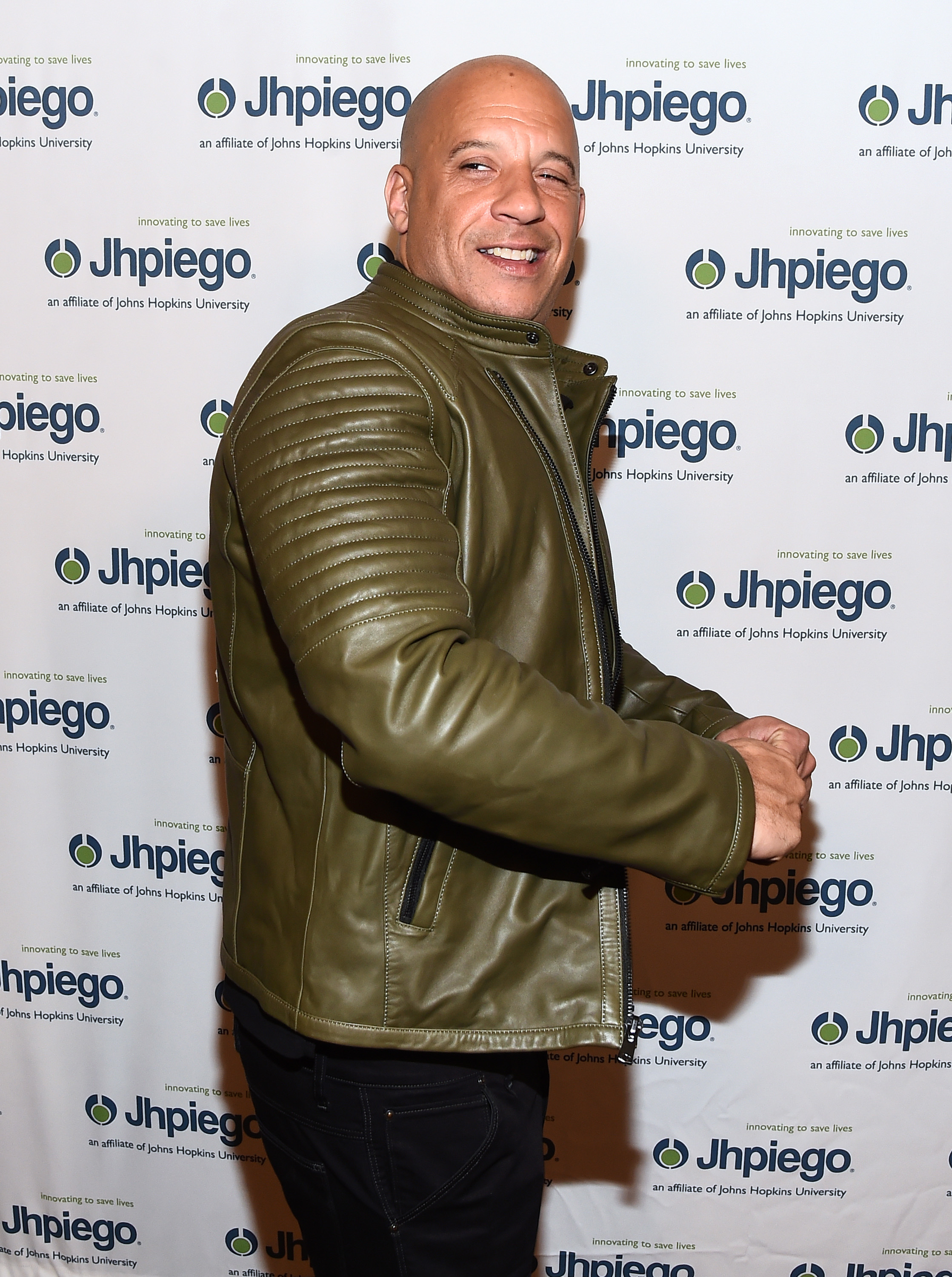 """Vin Diesel attends the """"Laughter is the Best Medicine"""" Gala in Los Angeles on May 1, 2017."""