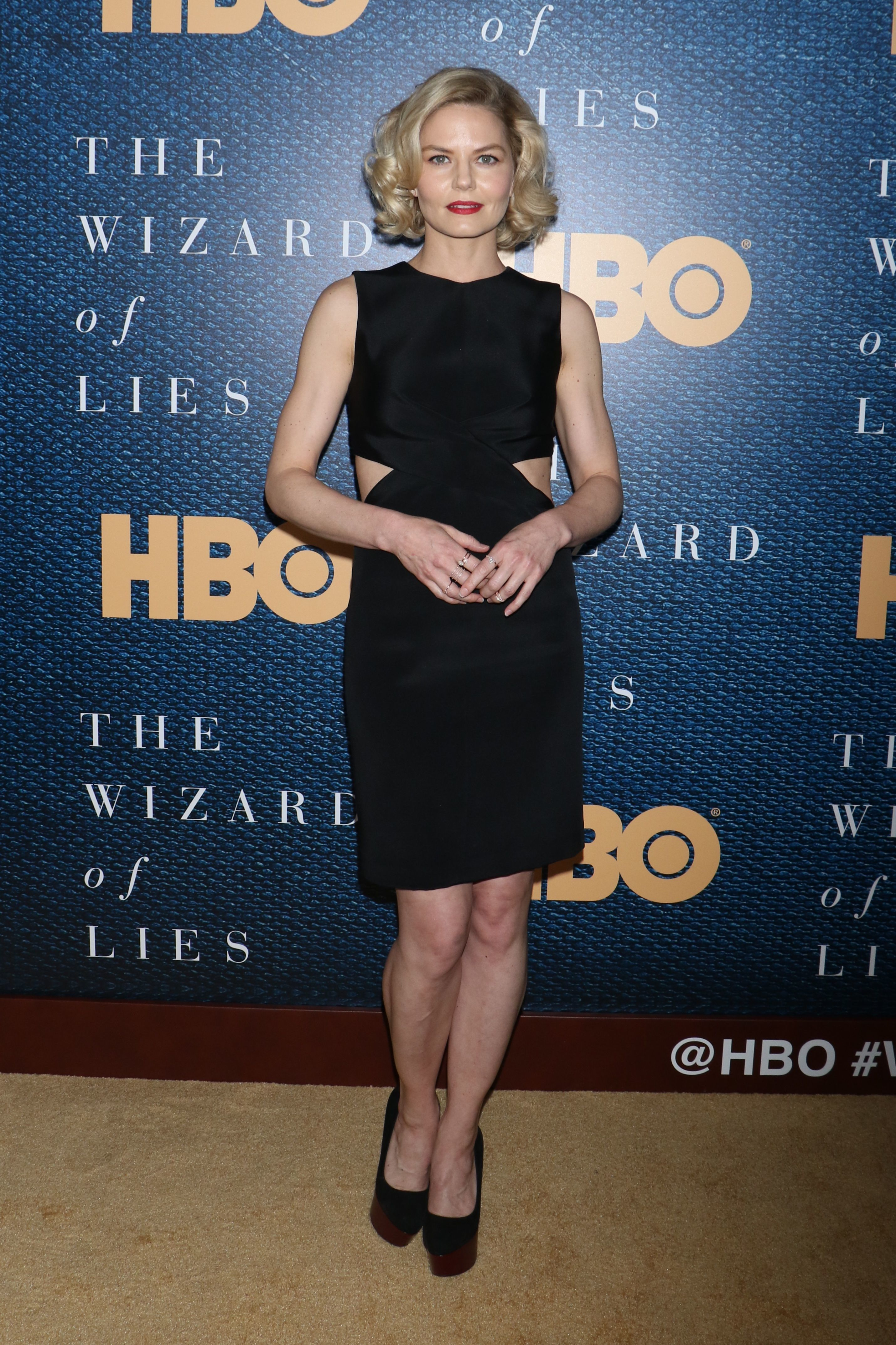 "Jennifer Morrison attends ""The Wizard of Lies"" film screening in New York City on May 11, 2017."