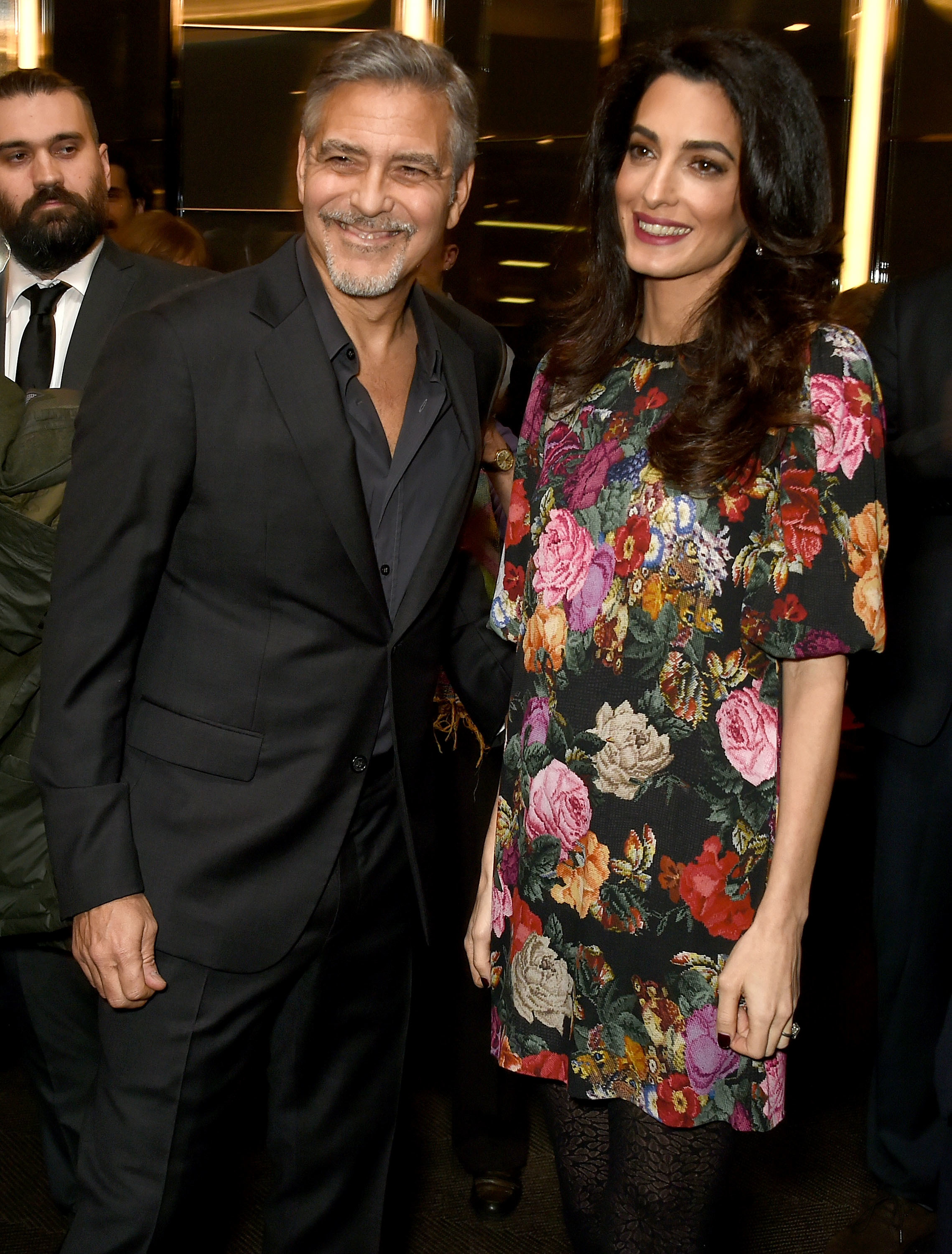 George Clooney is 'getting a little anxious' about twins' arrival