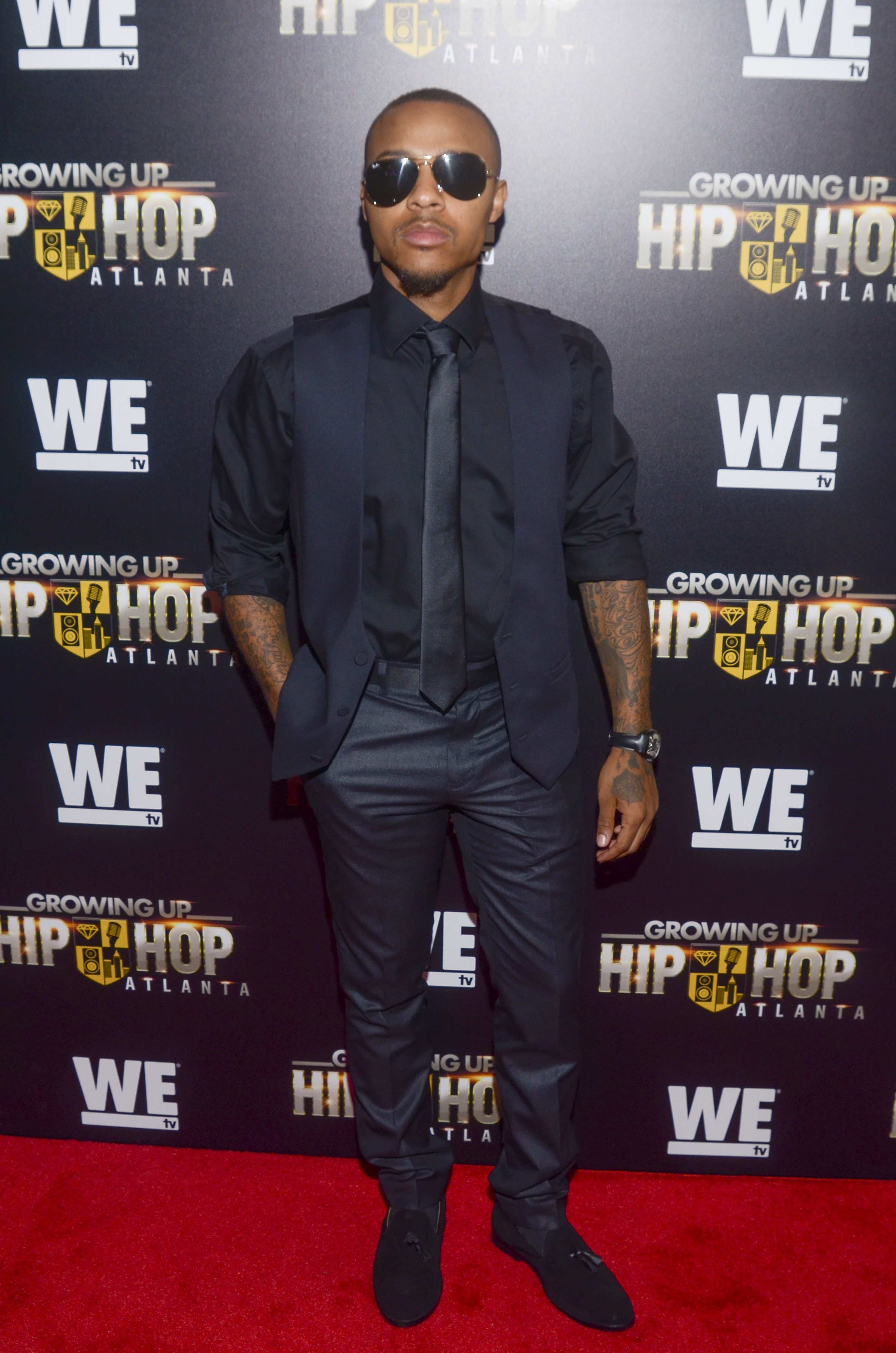 "Bow Wow attends the ""Growing Up Hip Hop"" TV show premiere in New York City on May 28, 2017."