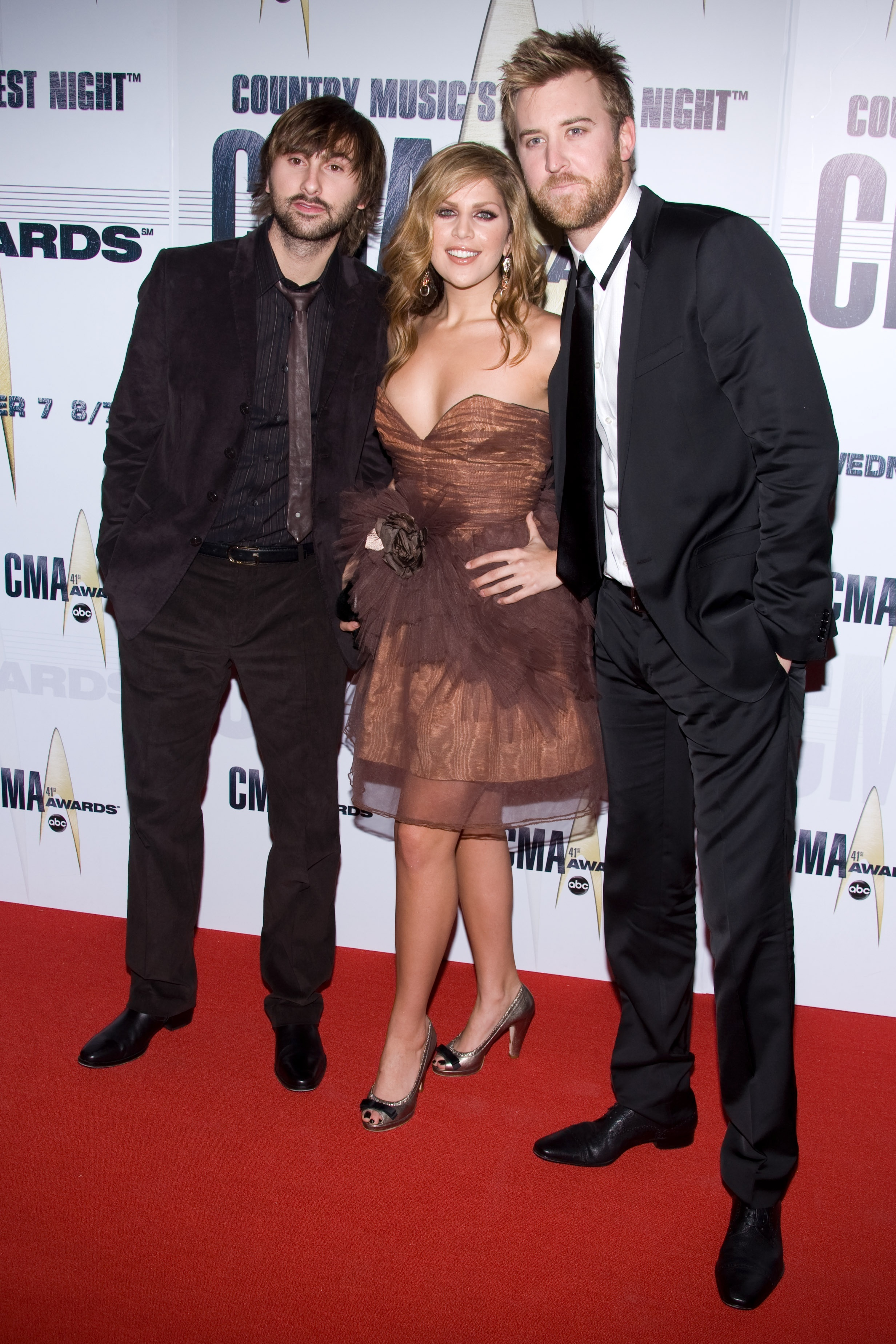 Lady Antebellum at the CMA Awards in Nashville on Nov. 7, 2007.
