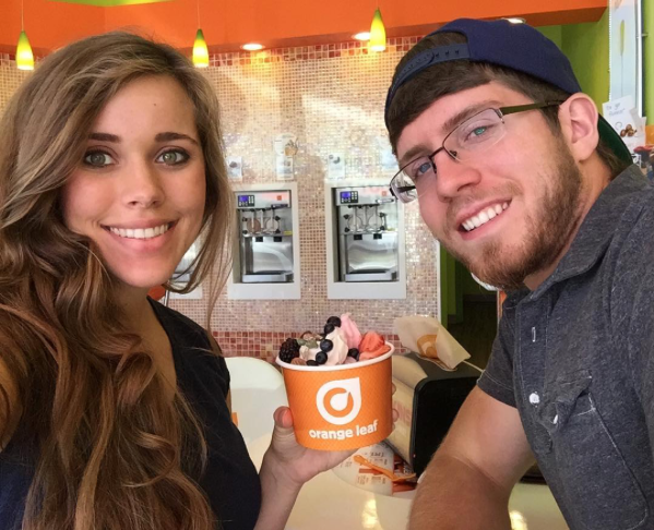 """Lovely date with my Sweetheart! 😘 @jessaseewald""    Ben Seewald, who posted this selfie with wife Jessa Duggar Seewald on Instagram on Oct. 5, 2015"