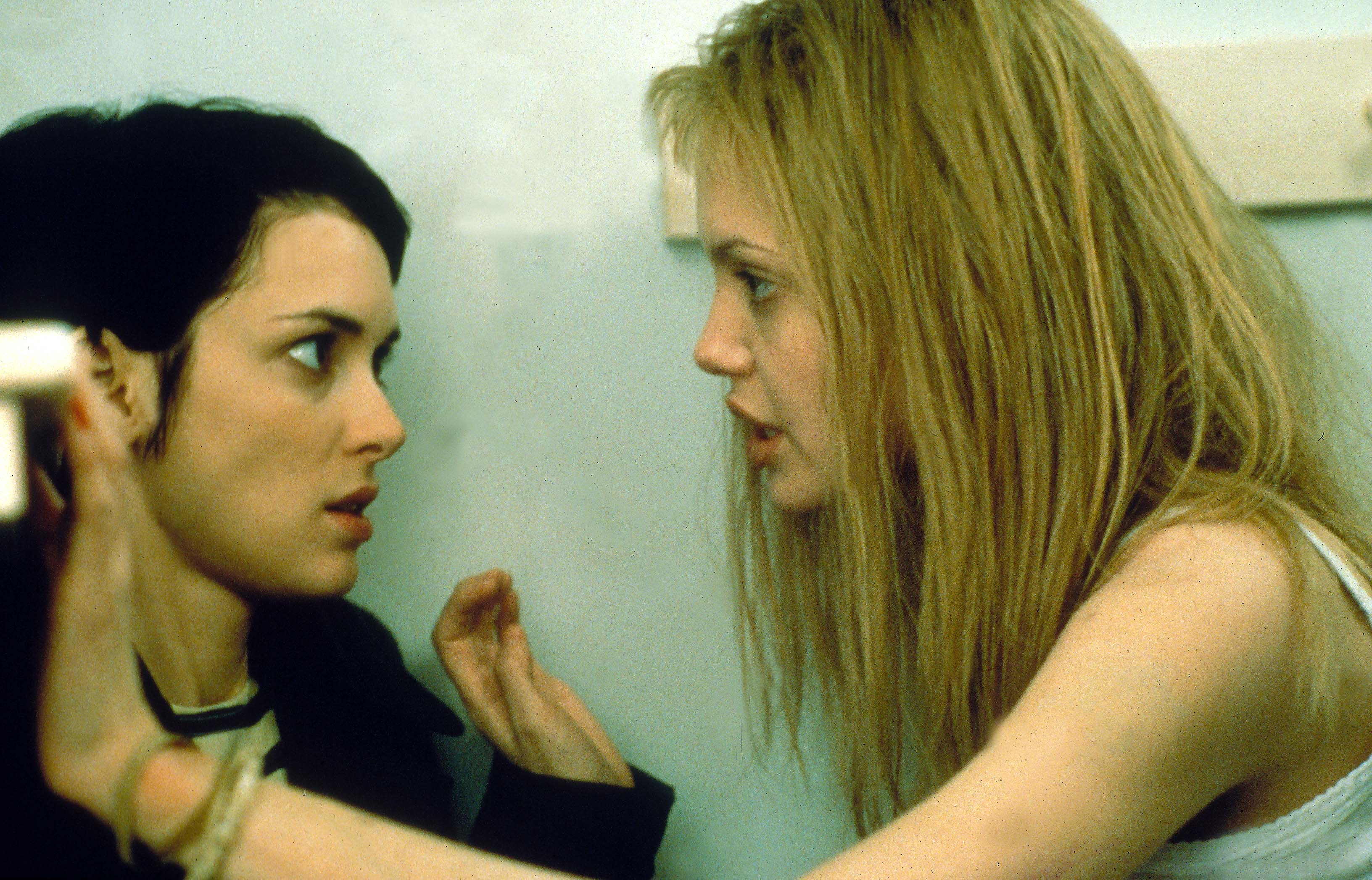 "Winona Ryder and Angelina Jolie starred in 1999's ""Girl, Interrupted."""