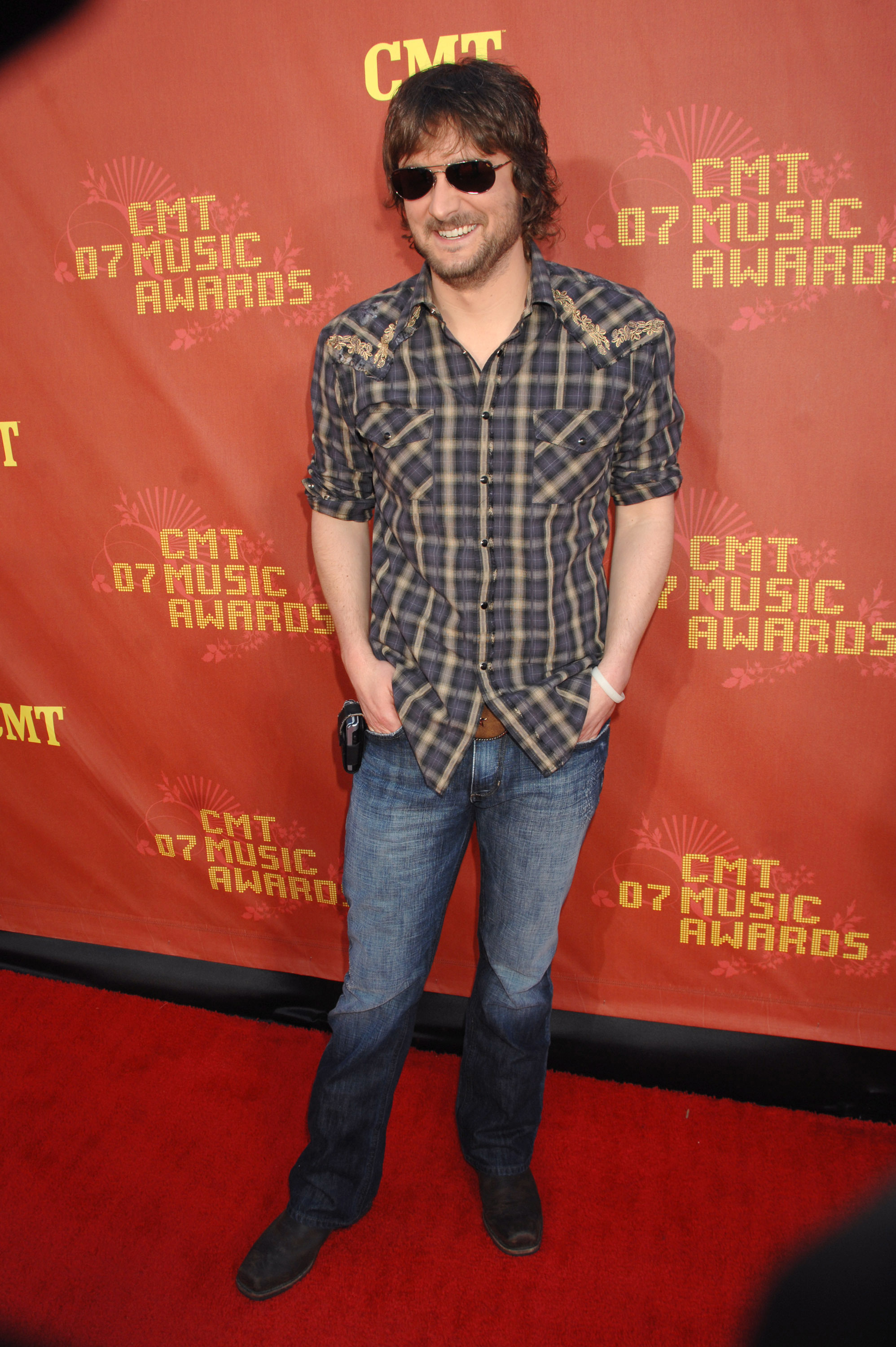Eric Church attends the 2007 CMT Music Awards at the Curb Event Center at Belmont University in Nashville on April 16.