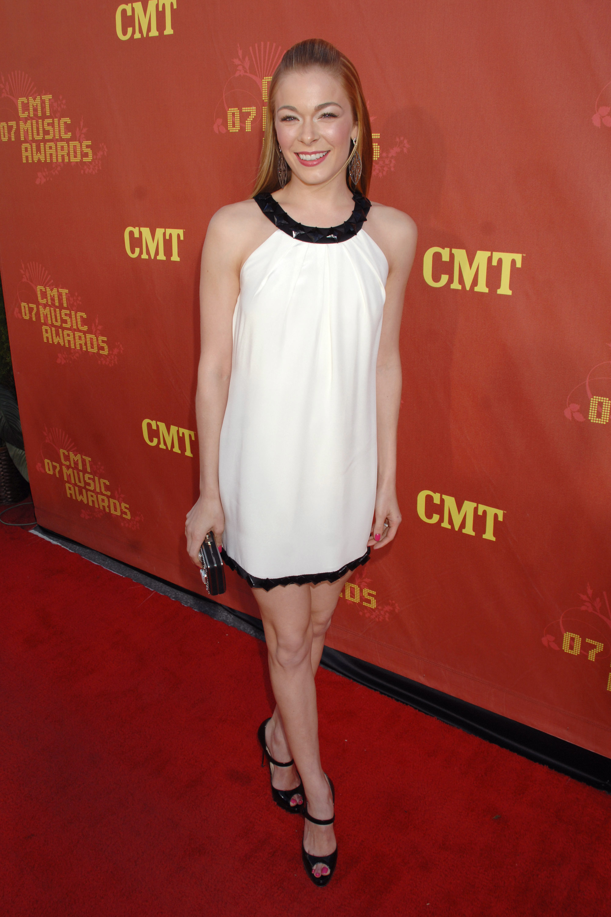 LeAnn Rimes attends the 2007 CMT Music Awards at the Curb Event Center at Belmont University in Nashville on April 16.