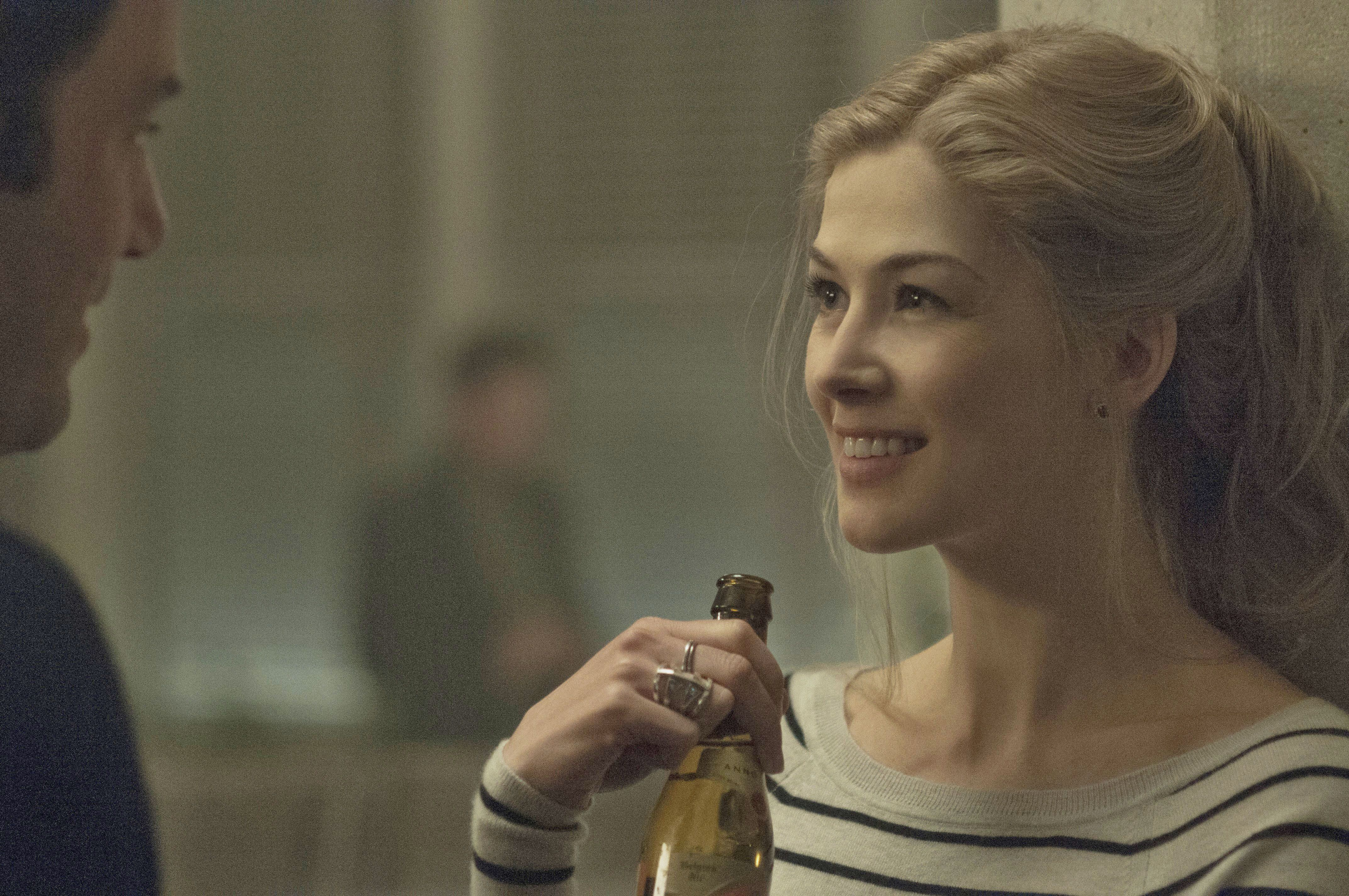 "Rosamund Pike starred as Amy Dunne in 2014's ""Gone Girl."""