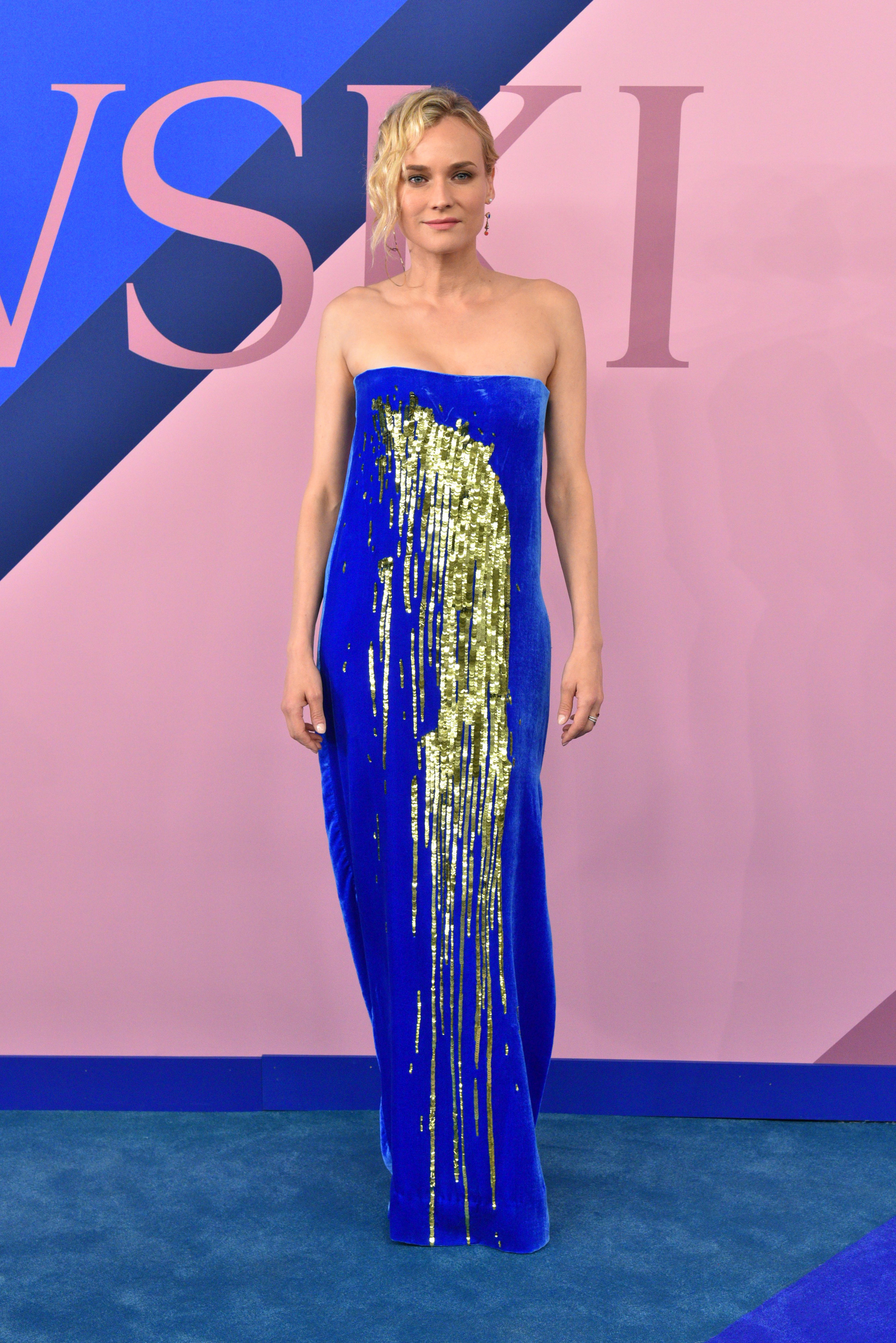 Diane Kruger attends the CFDA Fashion Awards in New York City on June 5, 2017.