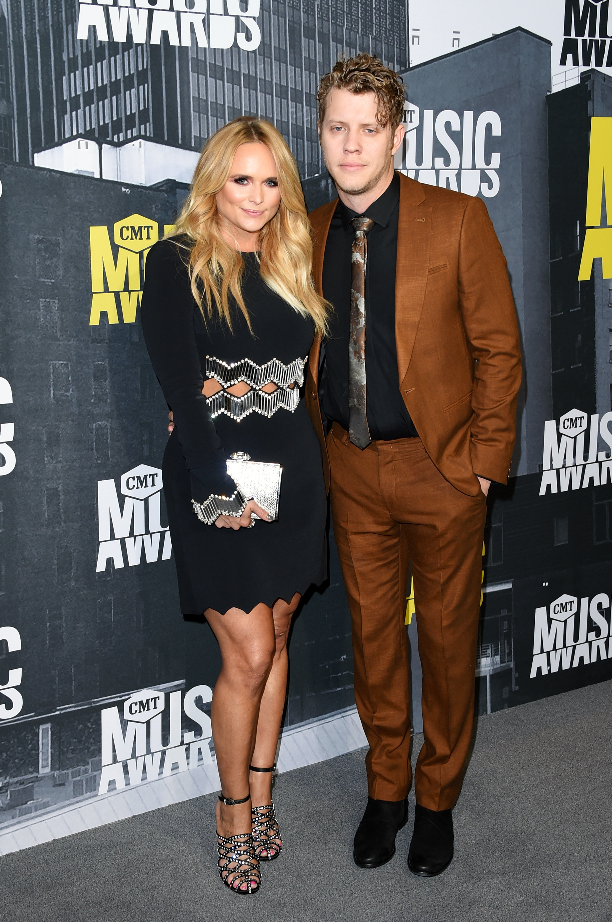 Miranda Lambert and Anderson East attend the 2017 CMT Music Awards at the Music City Center  in Nashville, Tennessee, on June 7, 2017.