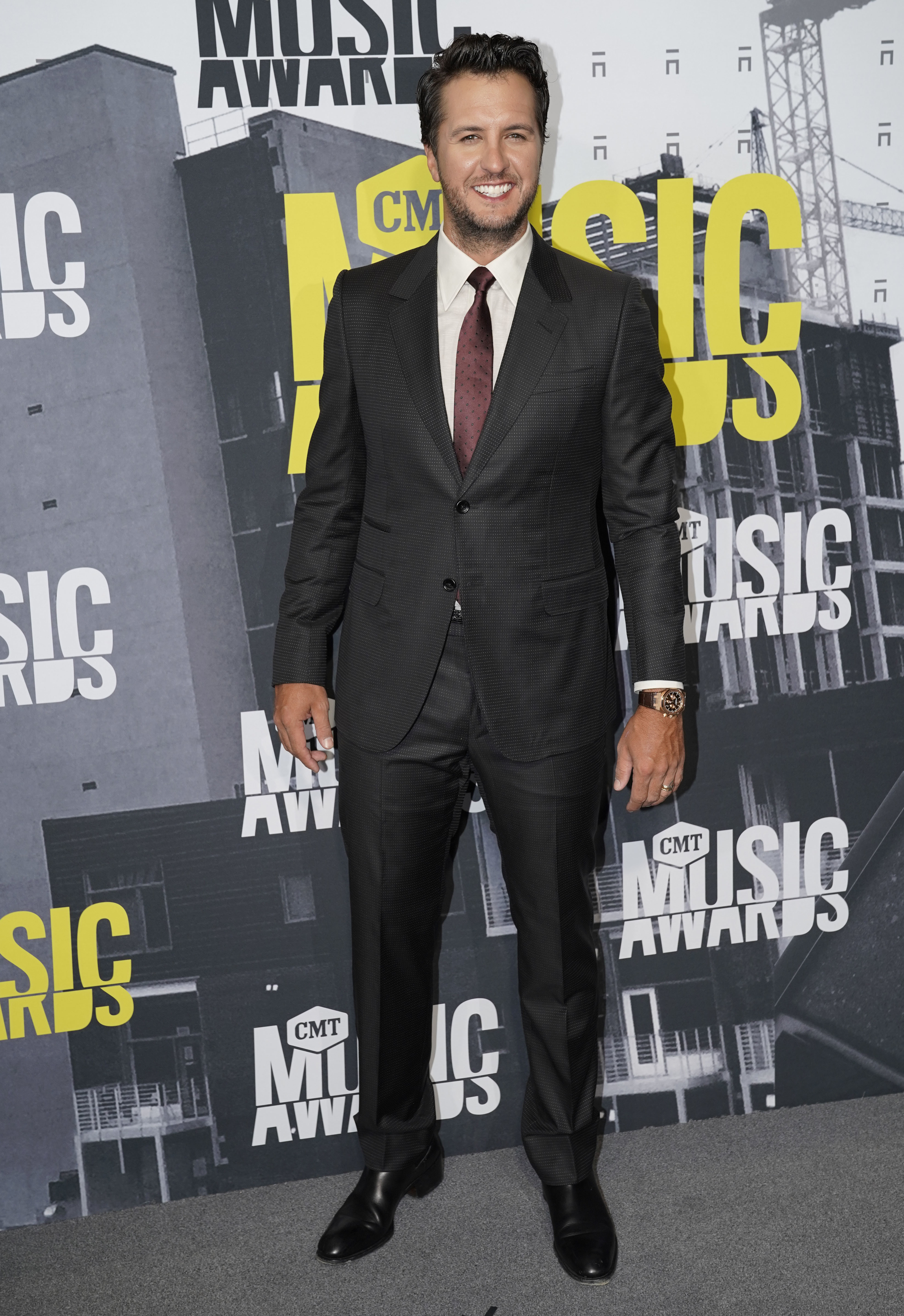Luke Bryan attends the CMT Music Awards at the Music City Center in Nashville on June 7, 2017.