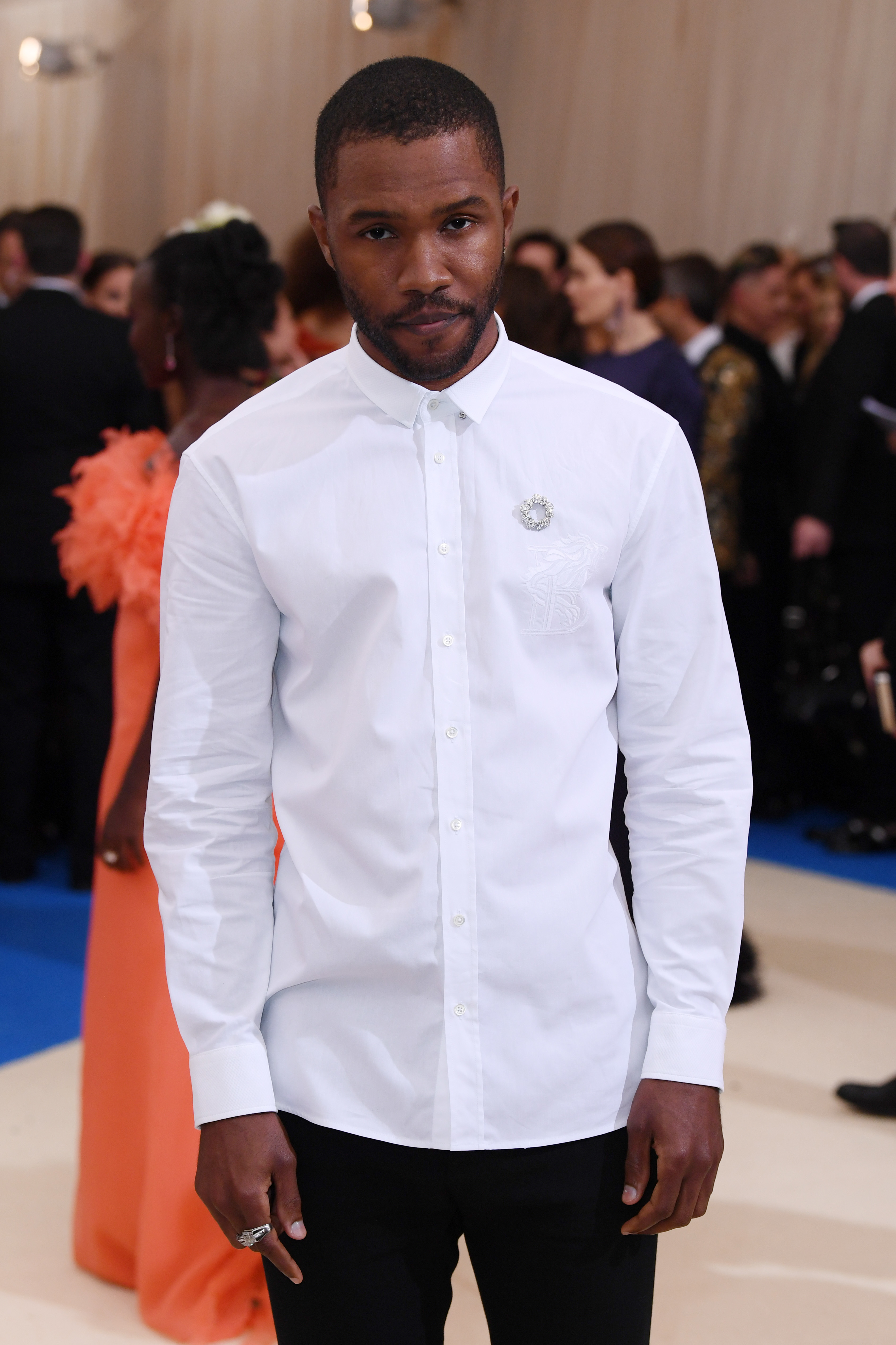 Frank Ocean attends the Met Gala in New York City on May 1, 2017.