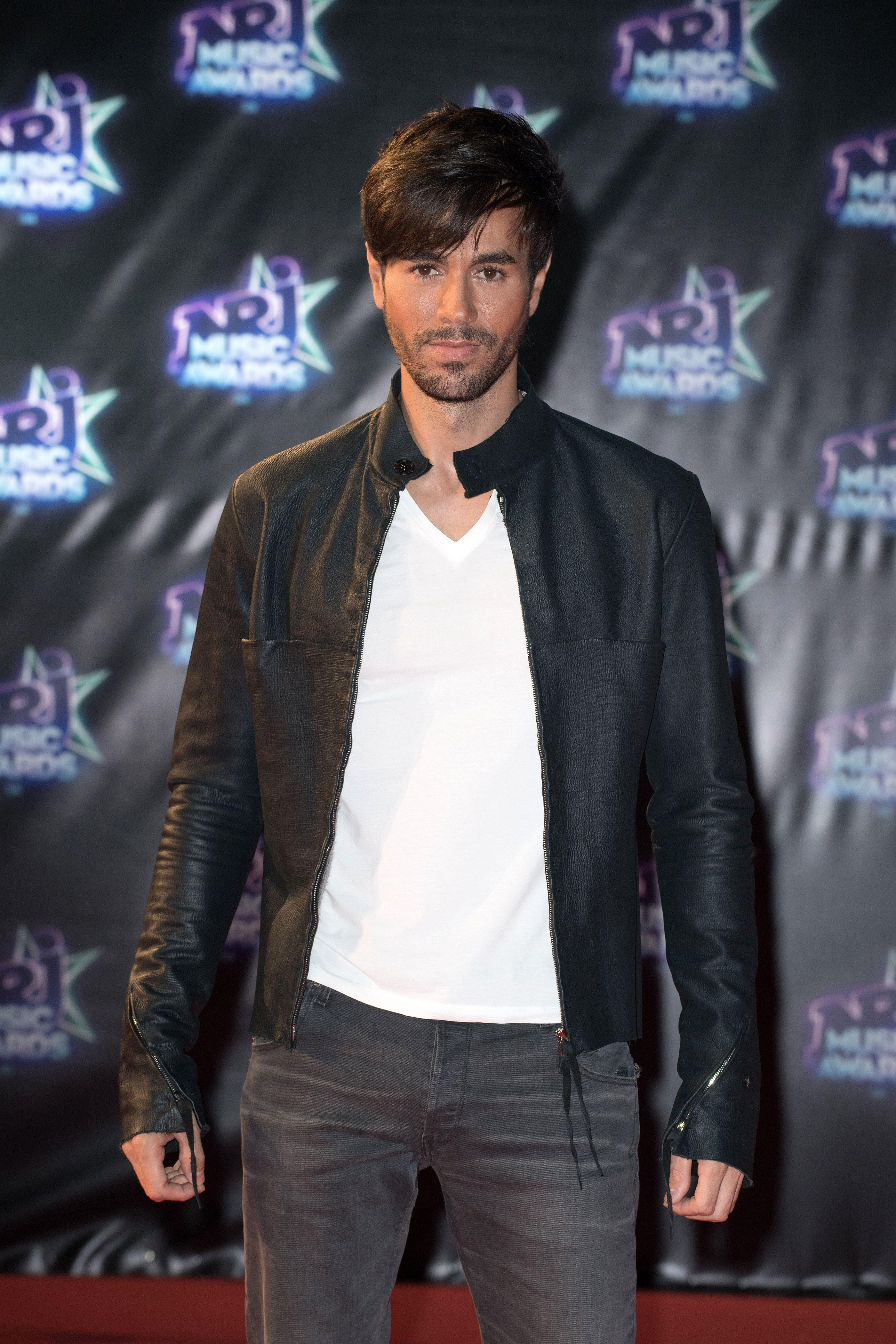 Enrique Iglesias attends the NRJ Music Awards in Cannes, France on Nov. 12, 2016.