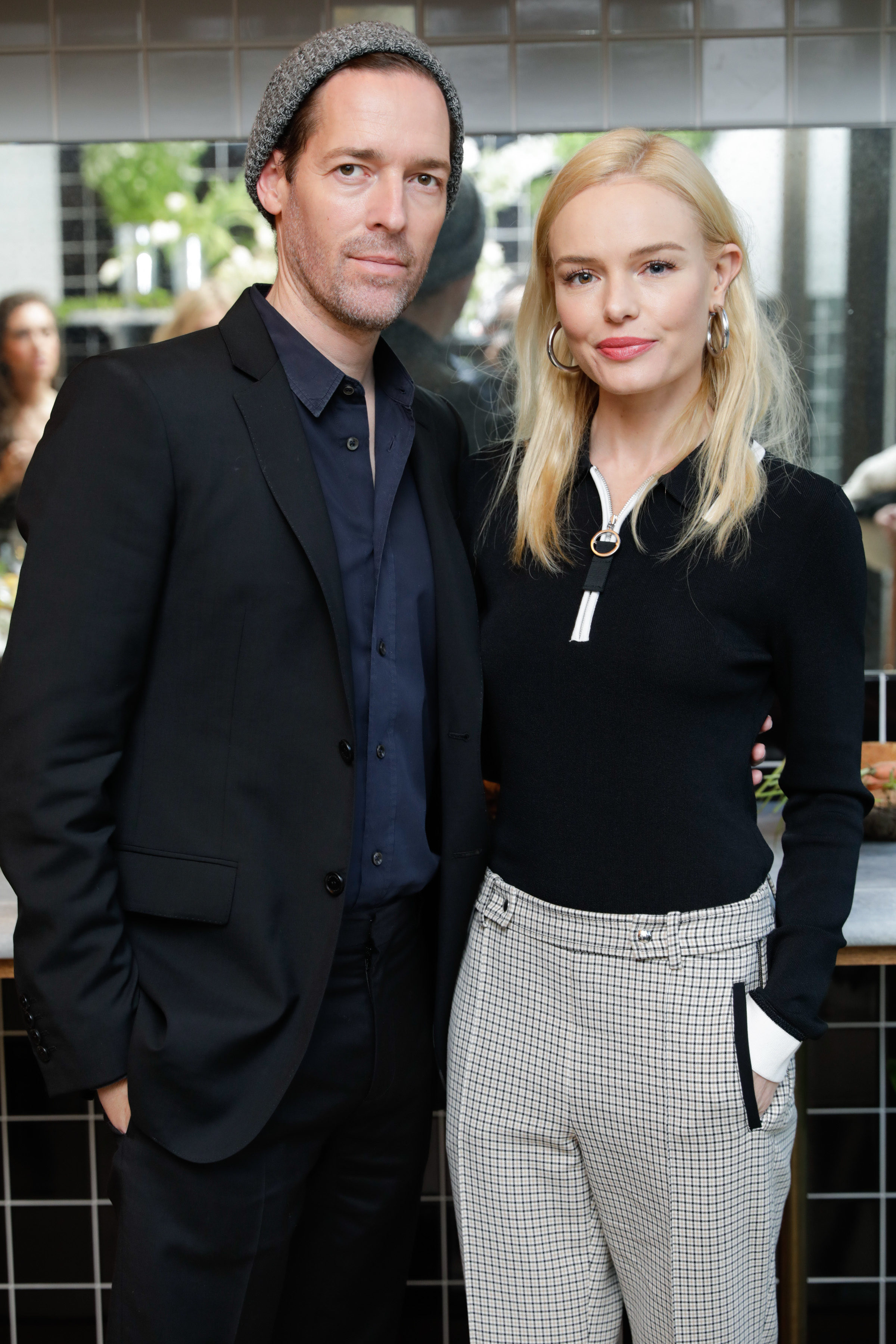 Michael Polish and Kate Bosworth attend the GREY Jason Wu dinner in New York City on June 15, 2017.