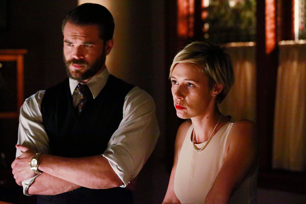 Liza Weil and Charlie Weber