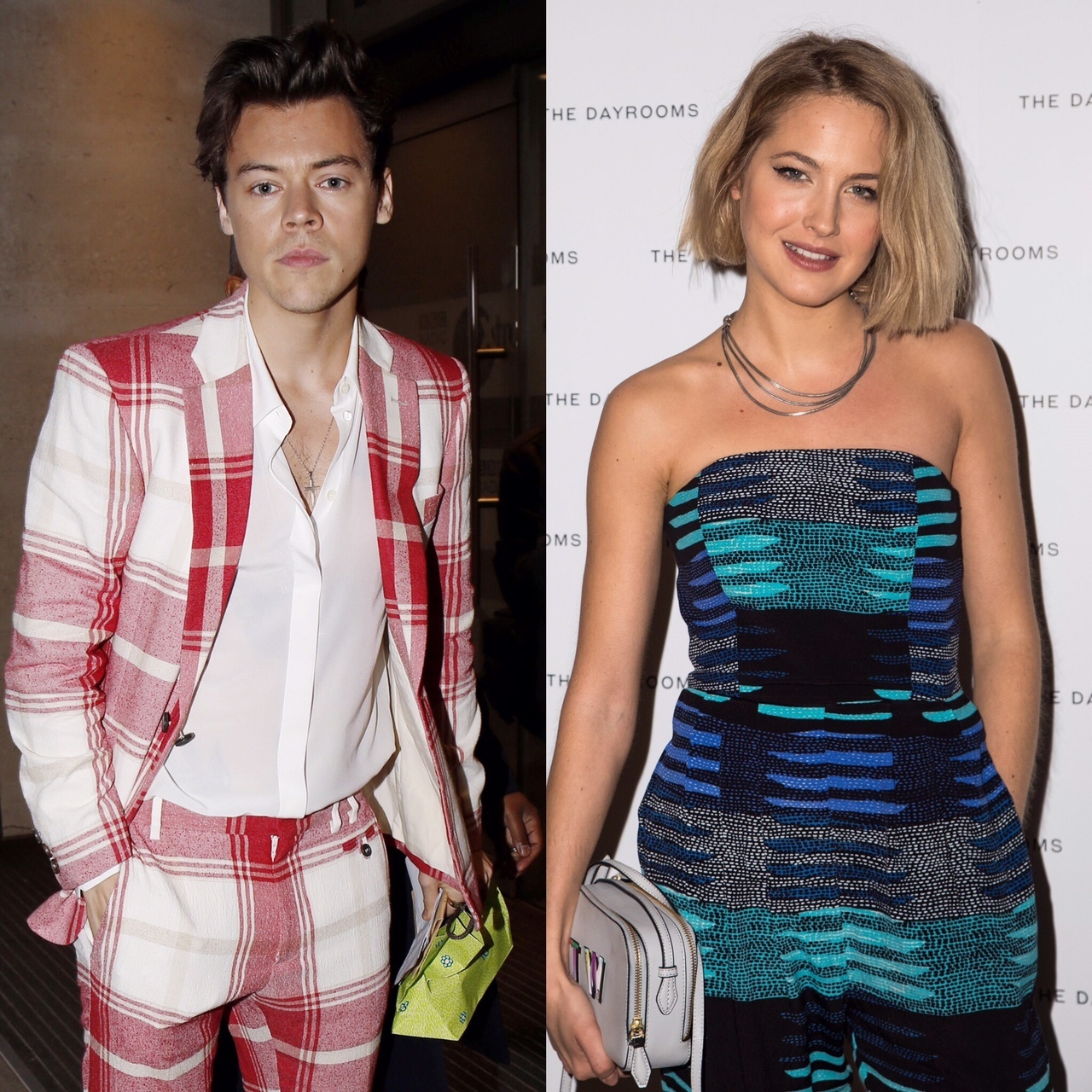 Harry Styles, Tess Ward and Camille Rowe