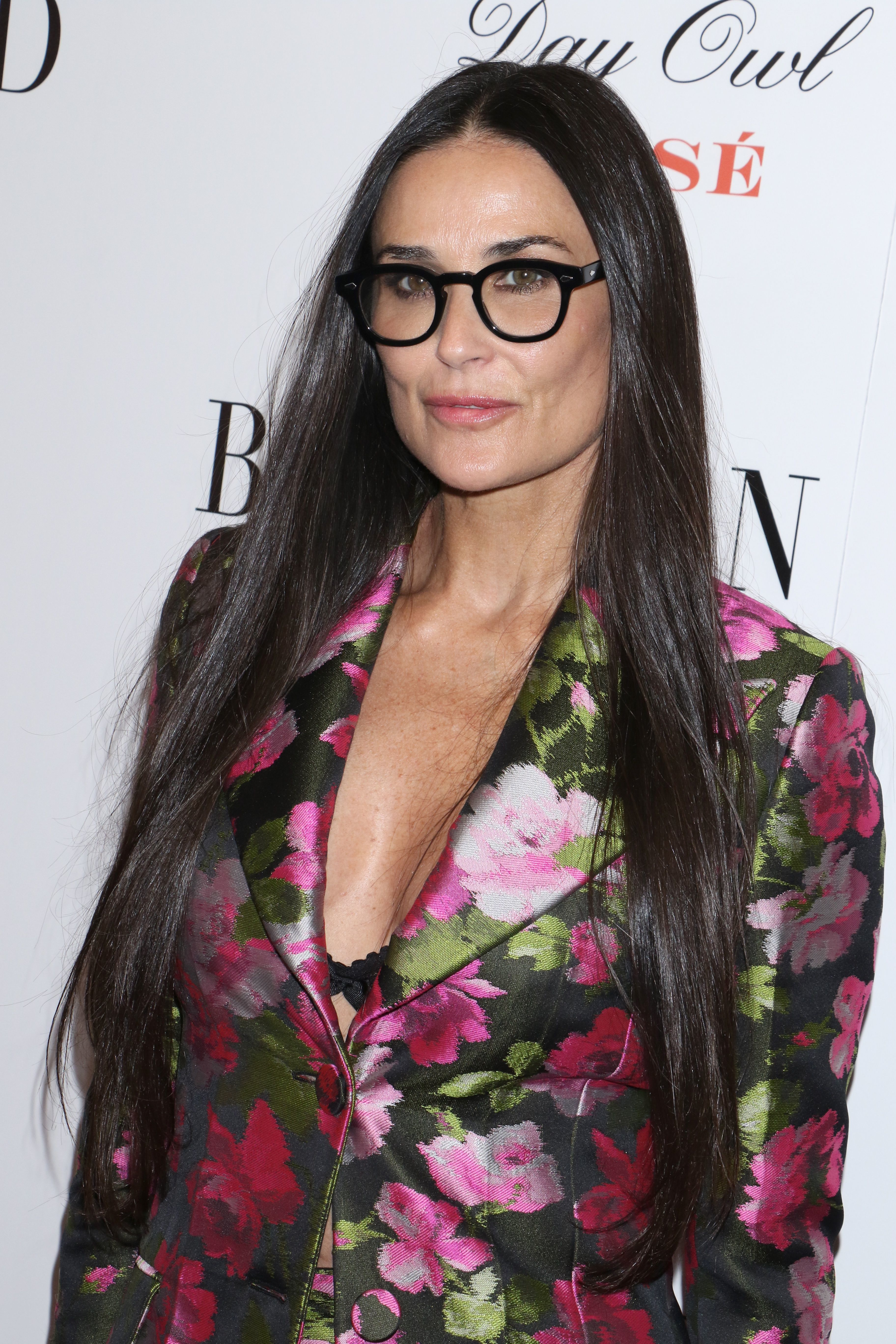 "Demi Moore attends the ""Blind"" film premiere in New York City on June 26, 2017."