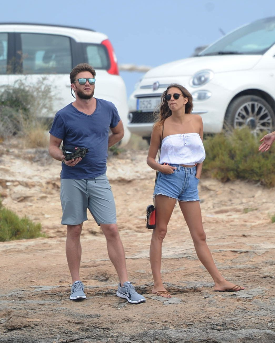 Scott Eastwood was snapped with his new girlfriend in Ibiza, Spain, on June 25, 2017.