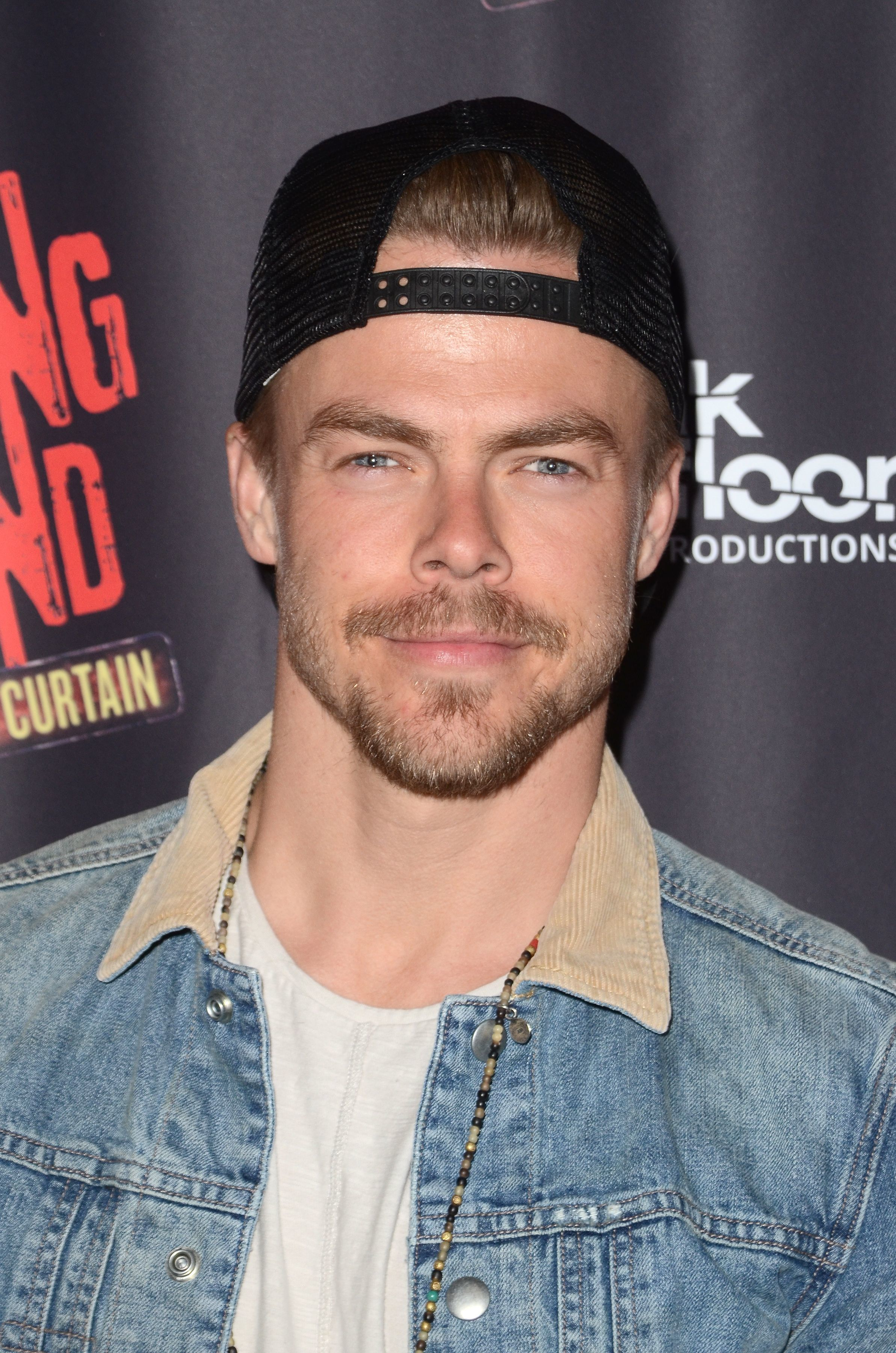 """Derek Hough attends the """"Shaping Sound: After The Curtain"""" Opening Night in Los Angeles on June 27, 2017."""