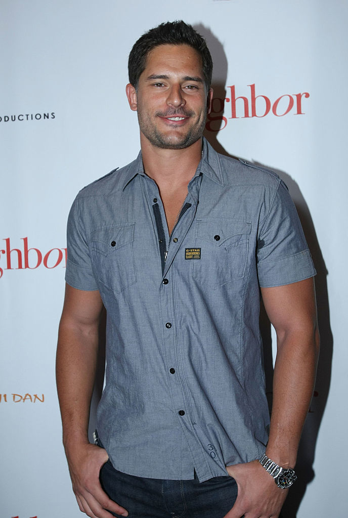 """Joe Manganiello attend the premiere of """"The Neighbor"""" at The Laemmle Sunset 5 in West Hollywood on Aug. 11, 2008."""