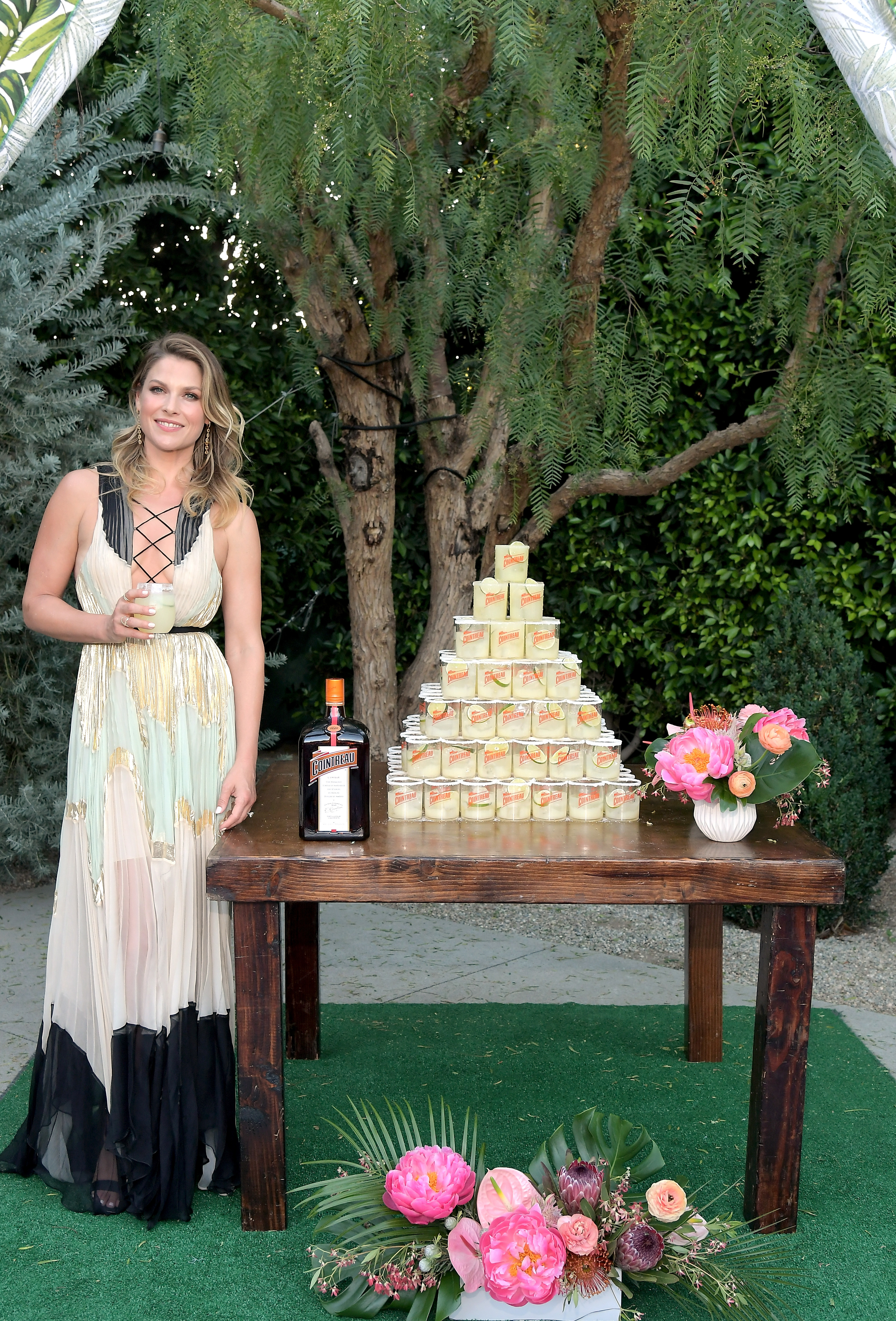 Ali Larter celebrates the Original Margarita and The Art of La Soirée with Cointreau at The Fig House in Los Angeles on June 21, 2017.