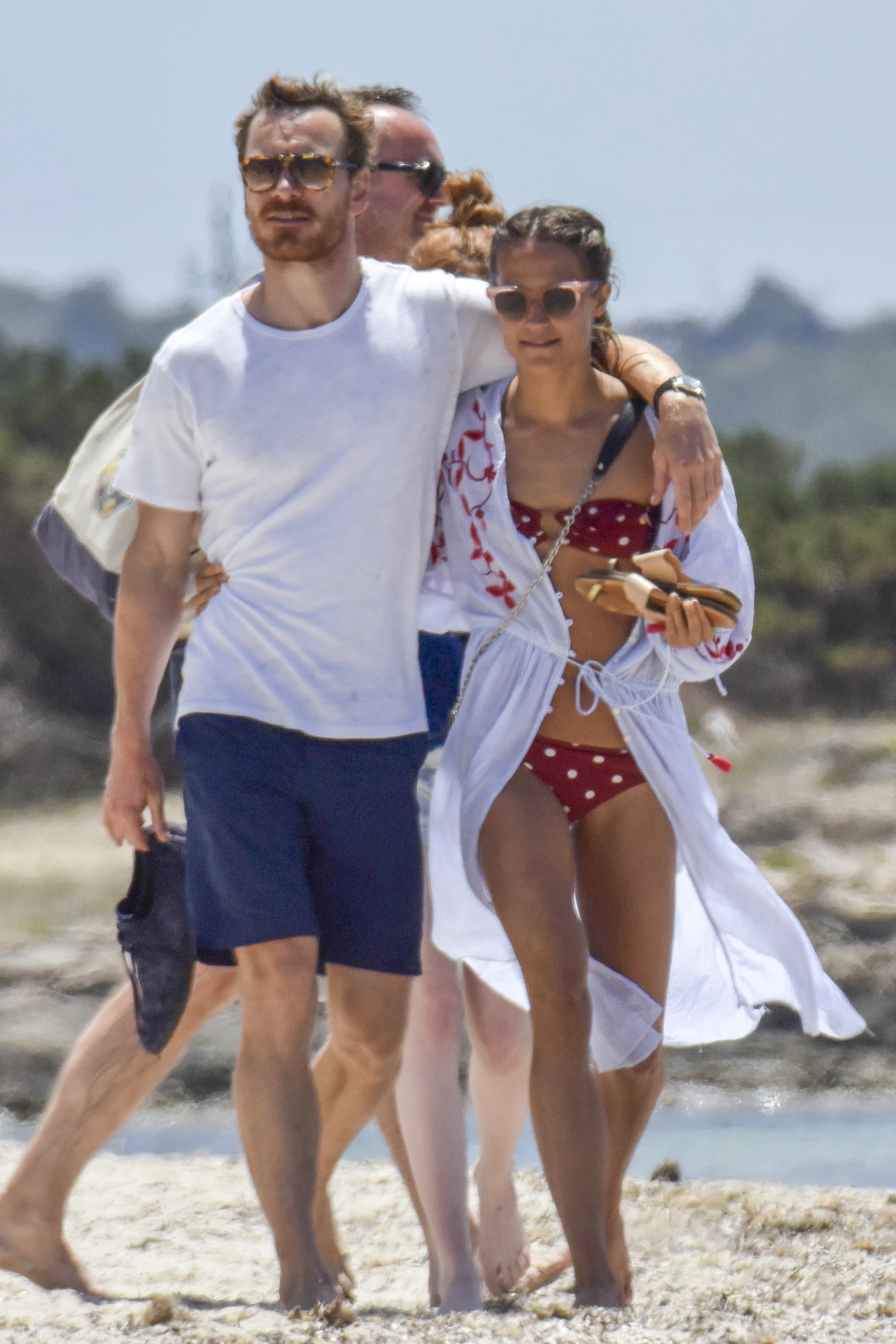 Alicia Vikander and Michael Fassbender wed in Ibiza