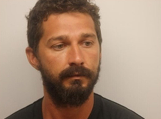 Shia LaBeouf is arrested on disorderly conduct, public drunkenness and obstruction charges in Savannah, Georgia on July 8, 2017.