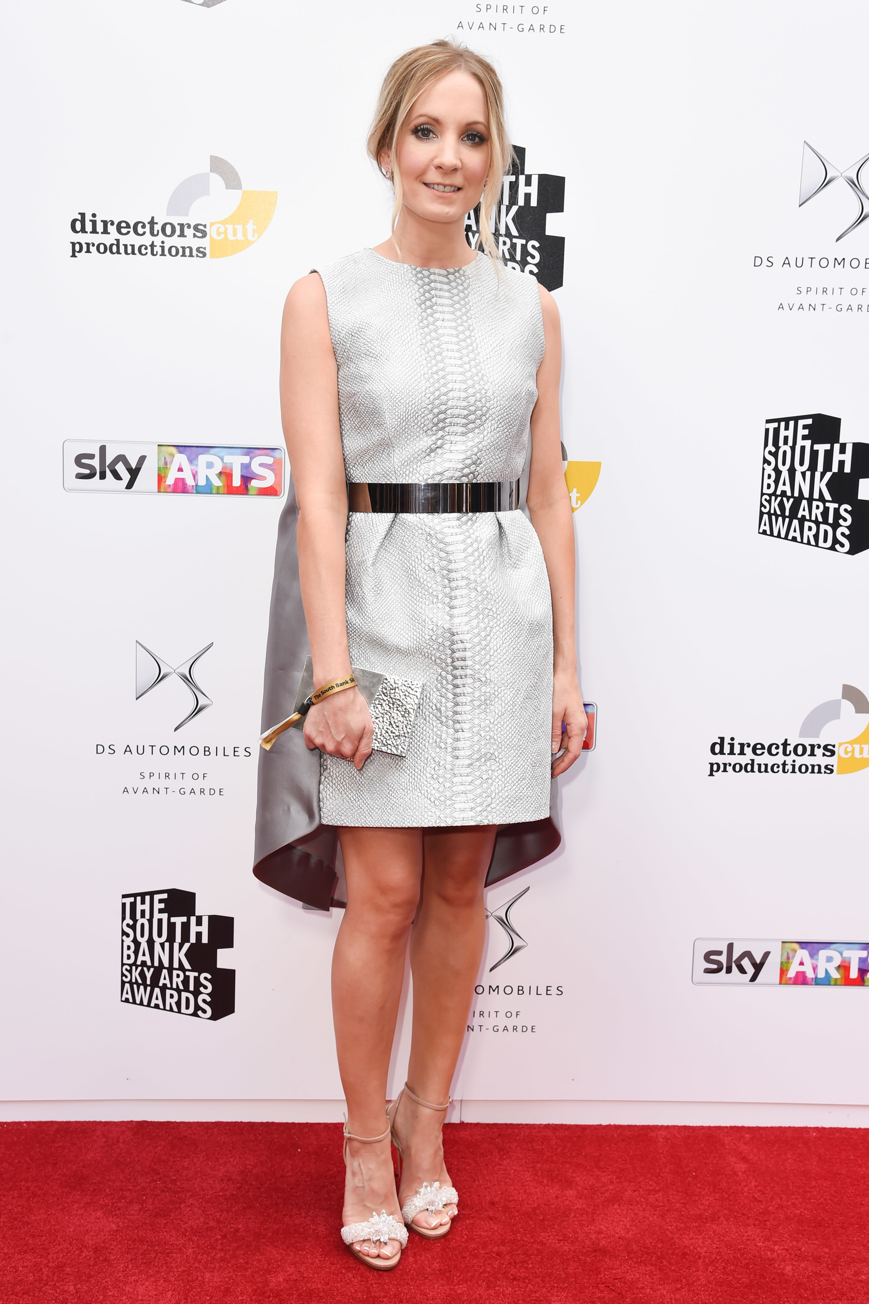 Joanne Froggatt attends the South Bank Sky Arts Awards in London on July 9, 2017.