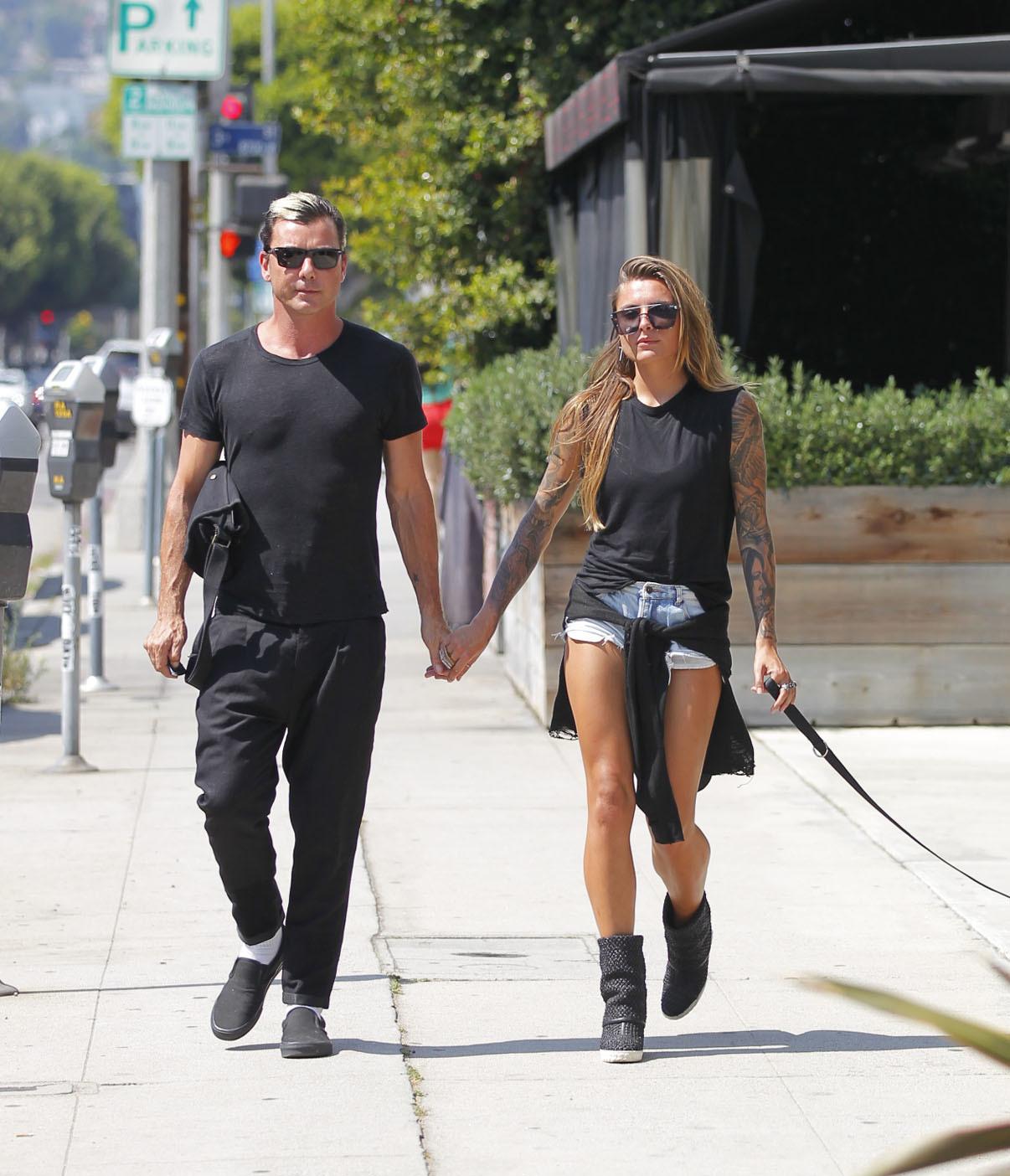 Gavin Rossdale and Sophia Thomalla