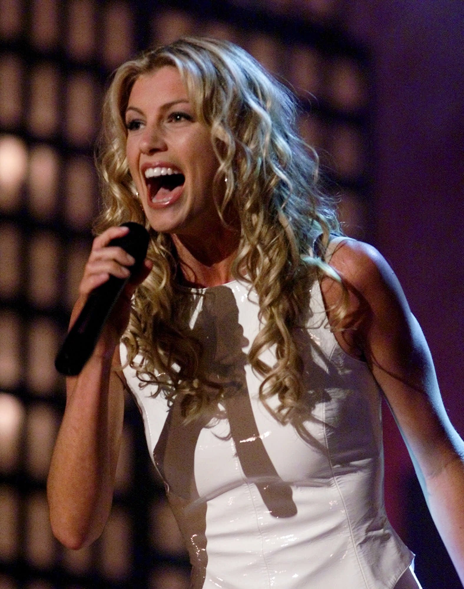 Faith Hill performs at the TNN Music Awards in Nashville in June of 2000.