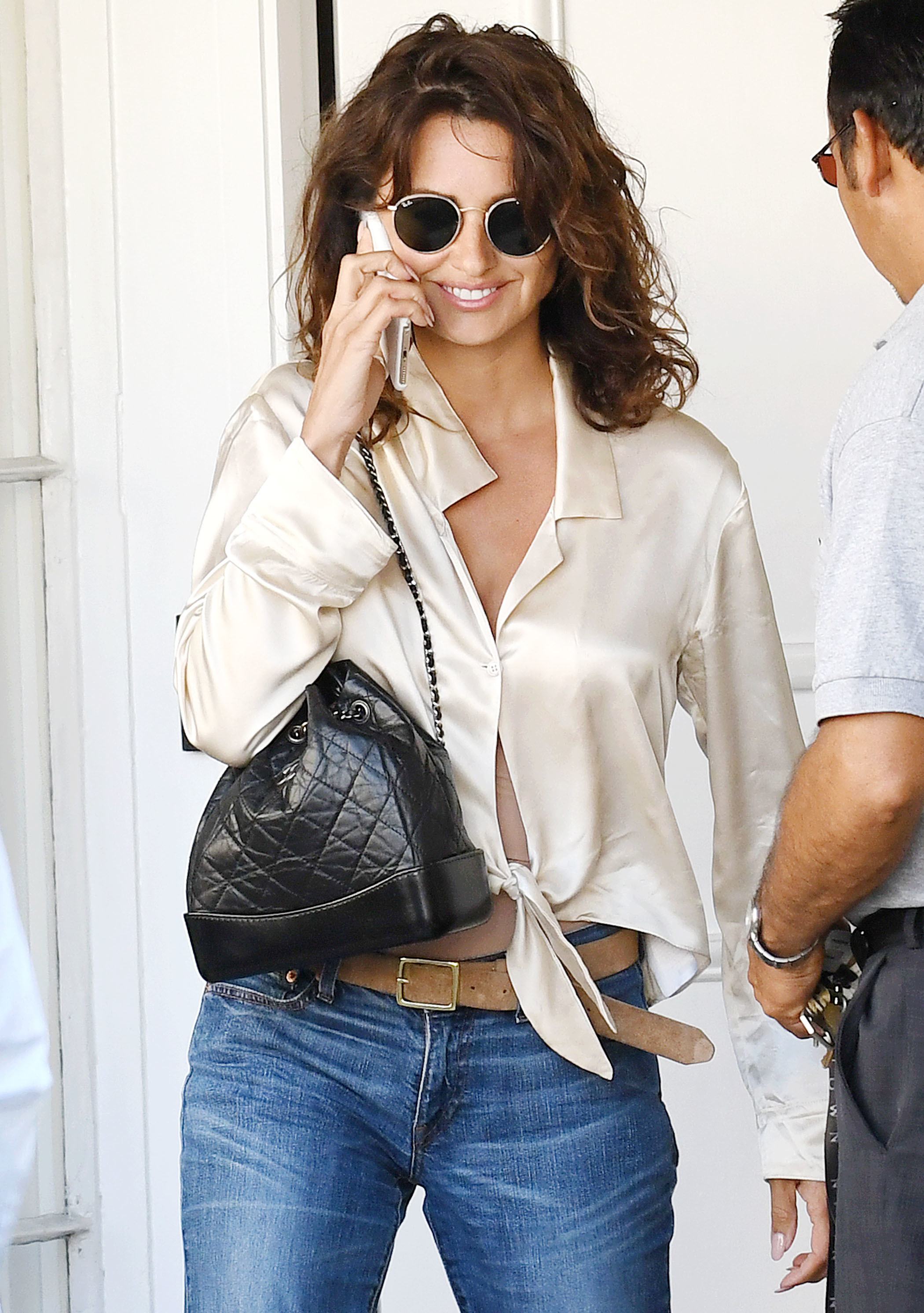 Penelope Cruz leaves a comestic center in Beverly Hills, Calif., on July 14, 2017.