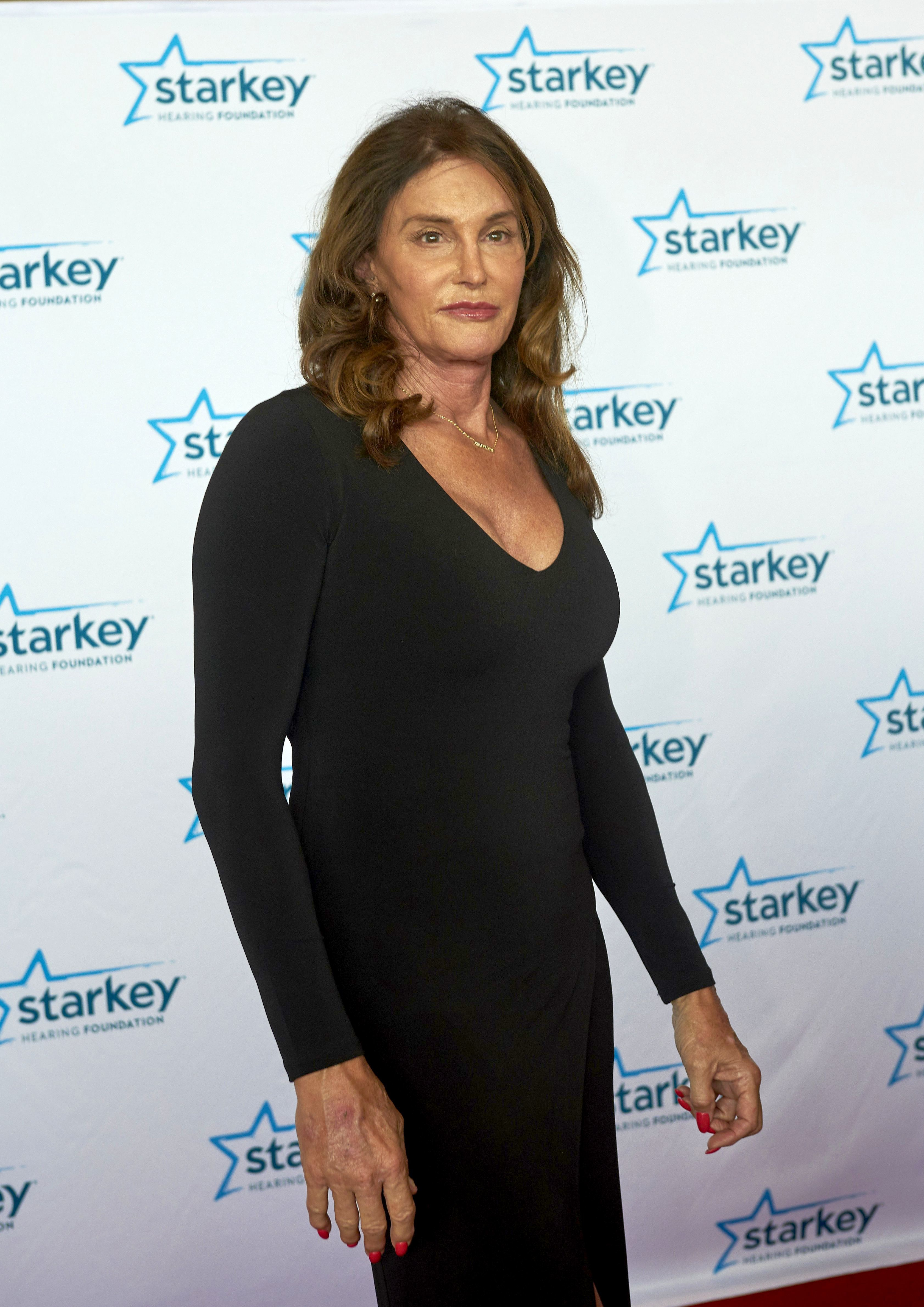 Caitlyn Jenner attends the Starkey Hearing Foundation Awards Gala in St.Paul on July 16, 2017.