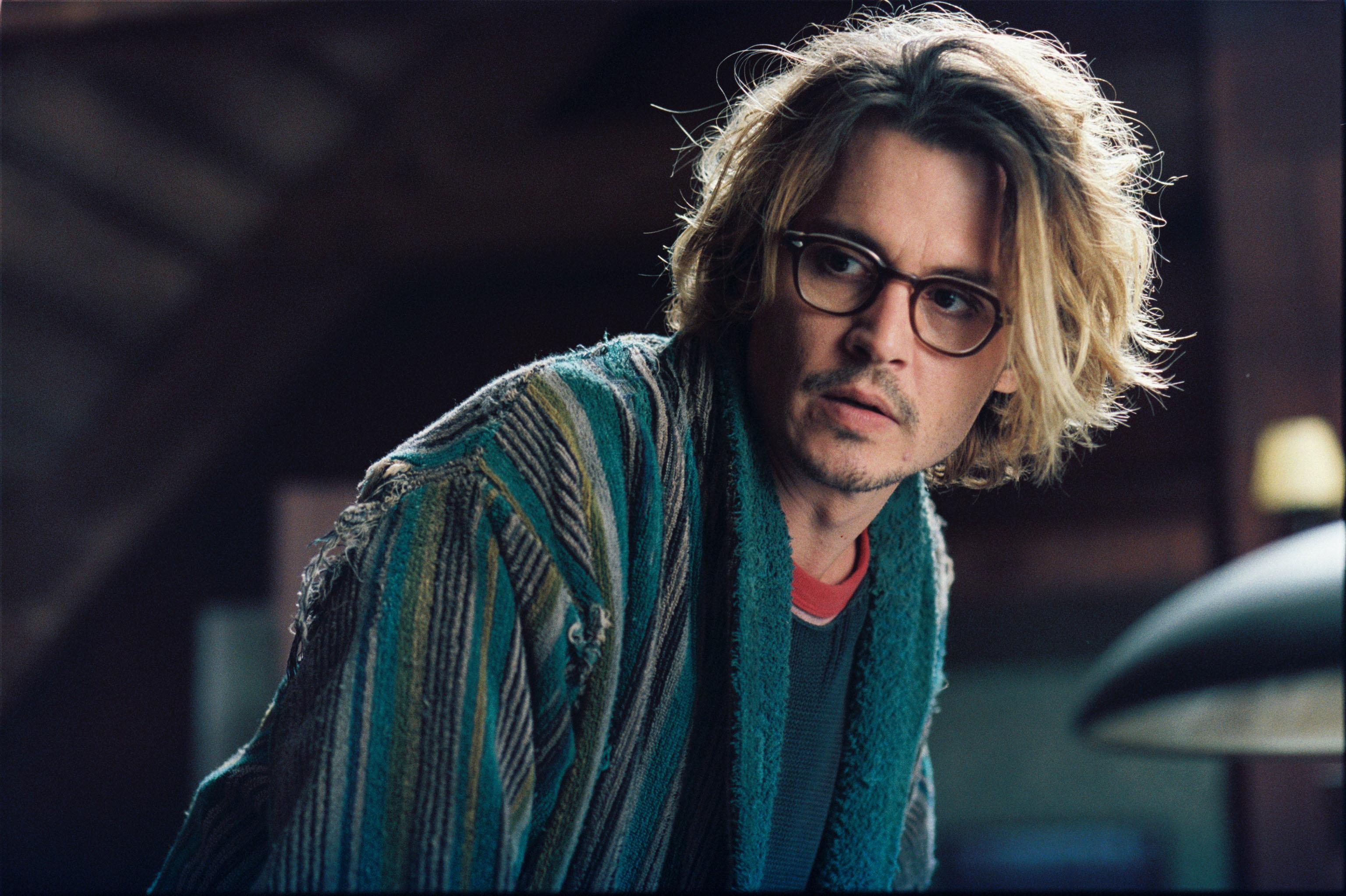 """Johnny Depp starred as Morton """"Mort"""" Rainey in 2004's """"Secret Window."""""""