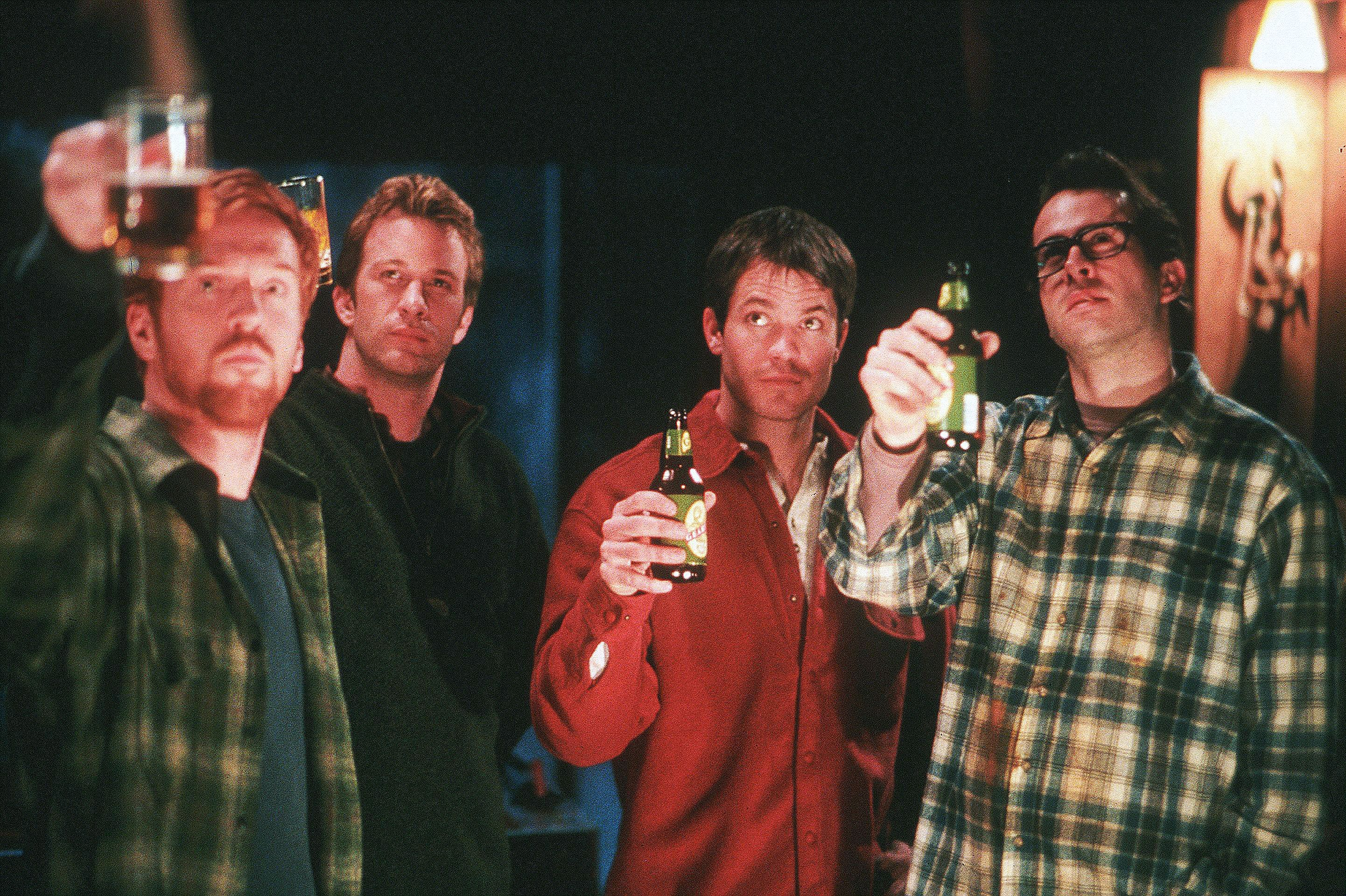 """Damian Lewis, Thomas Jane, Timothy Olyphant and Jason Lee starred in 2003's """"Dreamcatcher."""""""