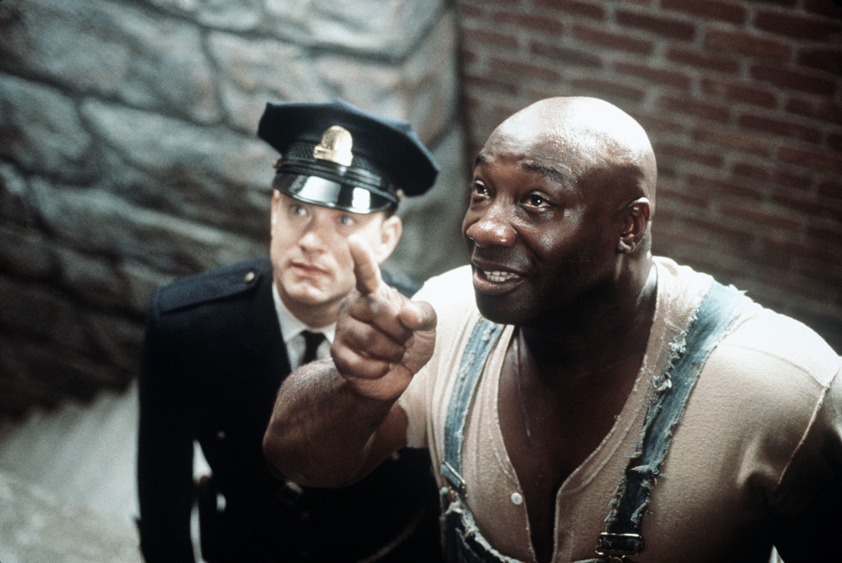 """Tom Hanks and Michael Clarke Duncan starred in 1999's """"The Green Mile."""""""