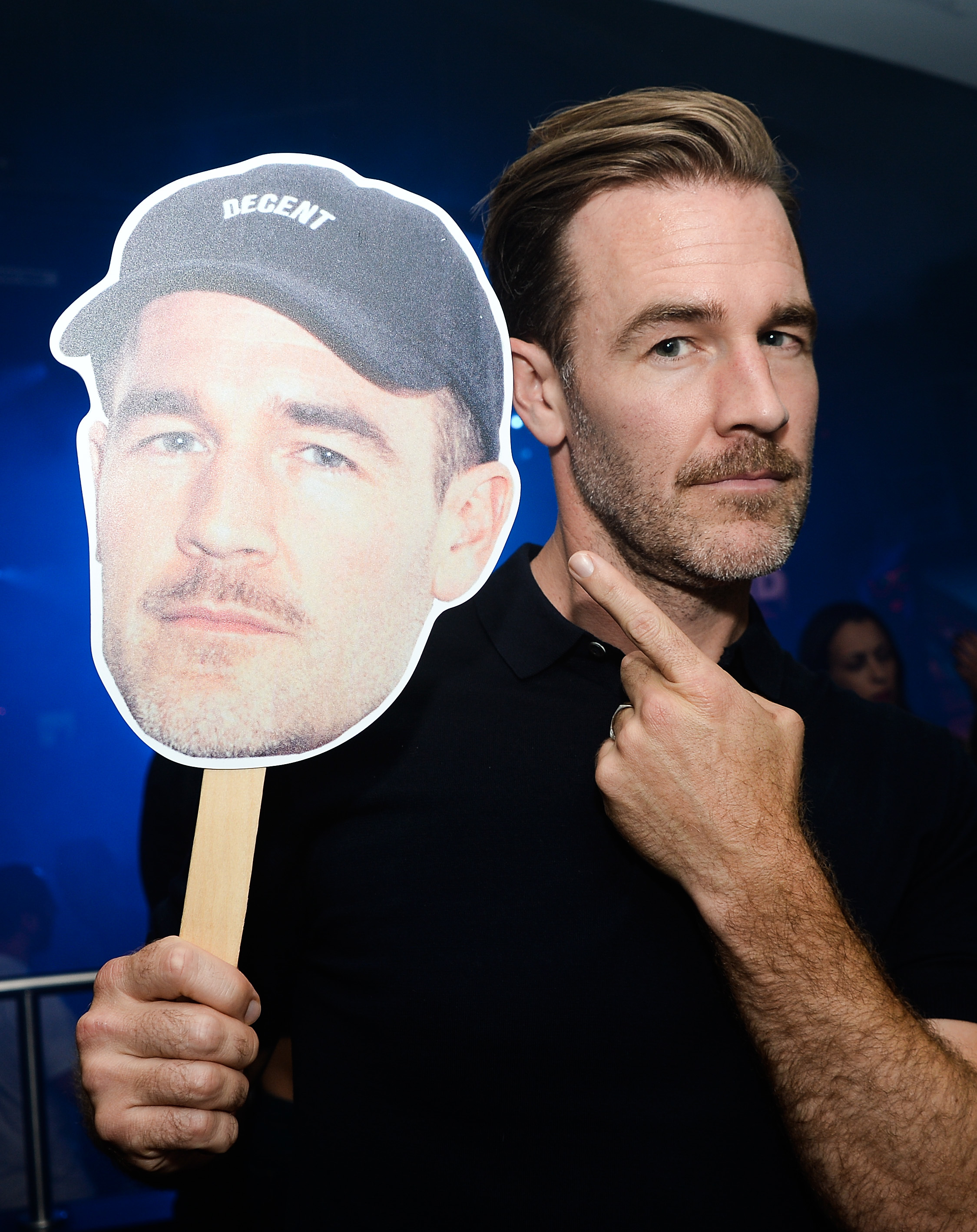 """James Van Der Beek attends Viceland's """"What Would Diplo Do?"""" party at Comic Con in San Diego, Calif., on July 21, 2017."""
