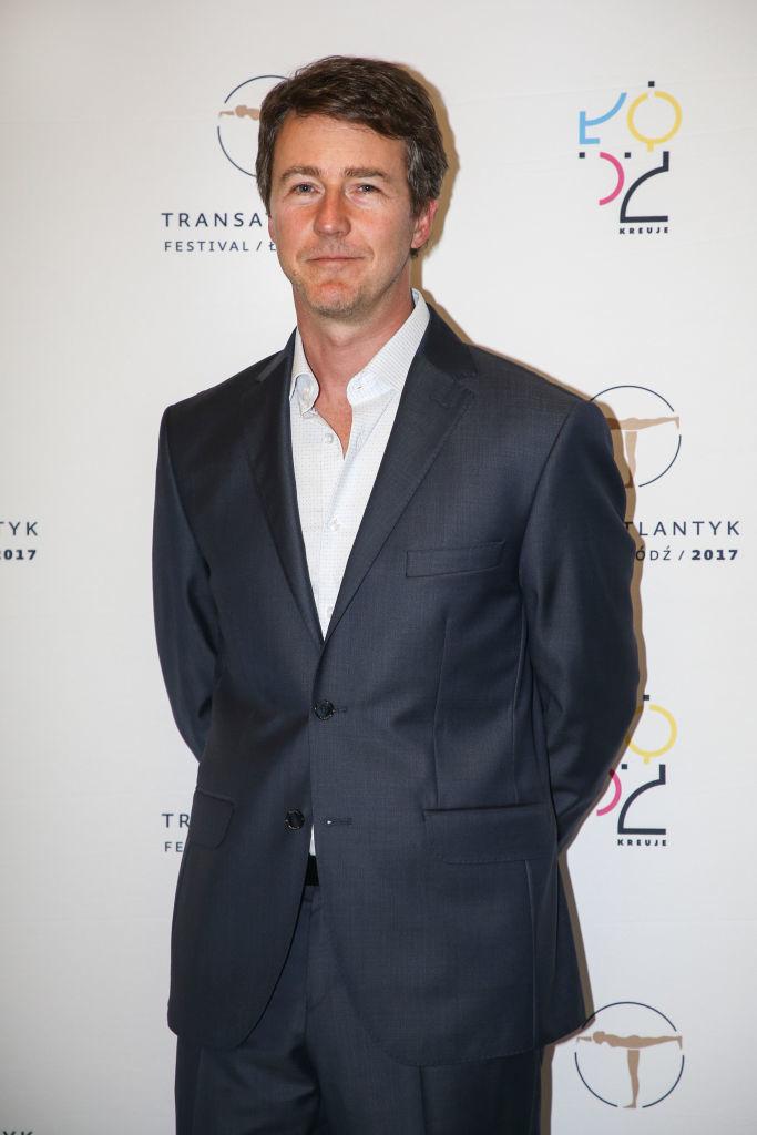 Edward Norton at the 7th Transatlantyk Film Festival in Lodz, Poland, on July 21, 2017.