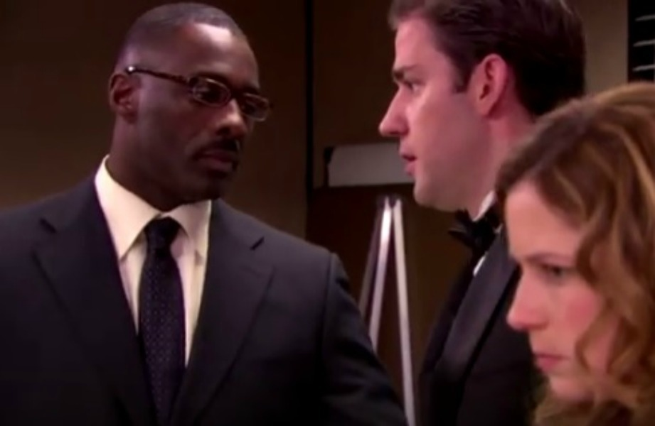 "Idris Elba appeared in numerous episodes of Season 5 of ""The Office."""