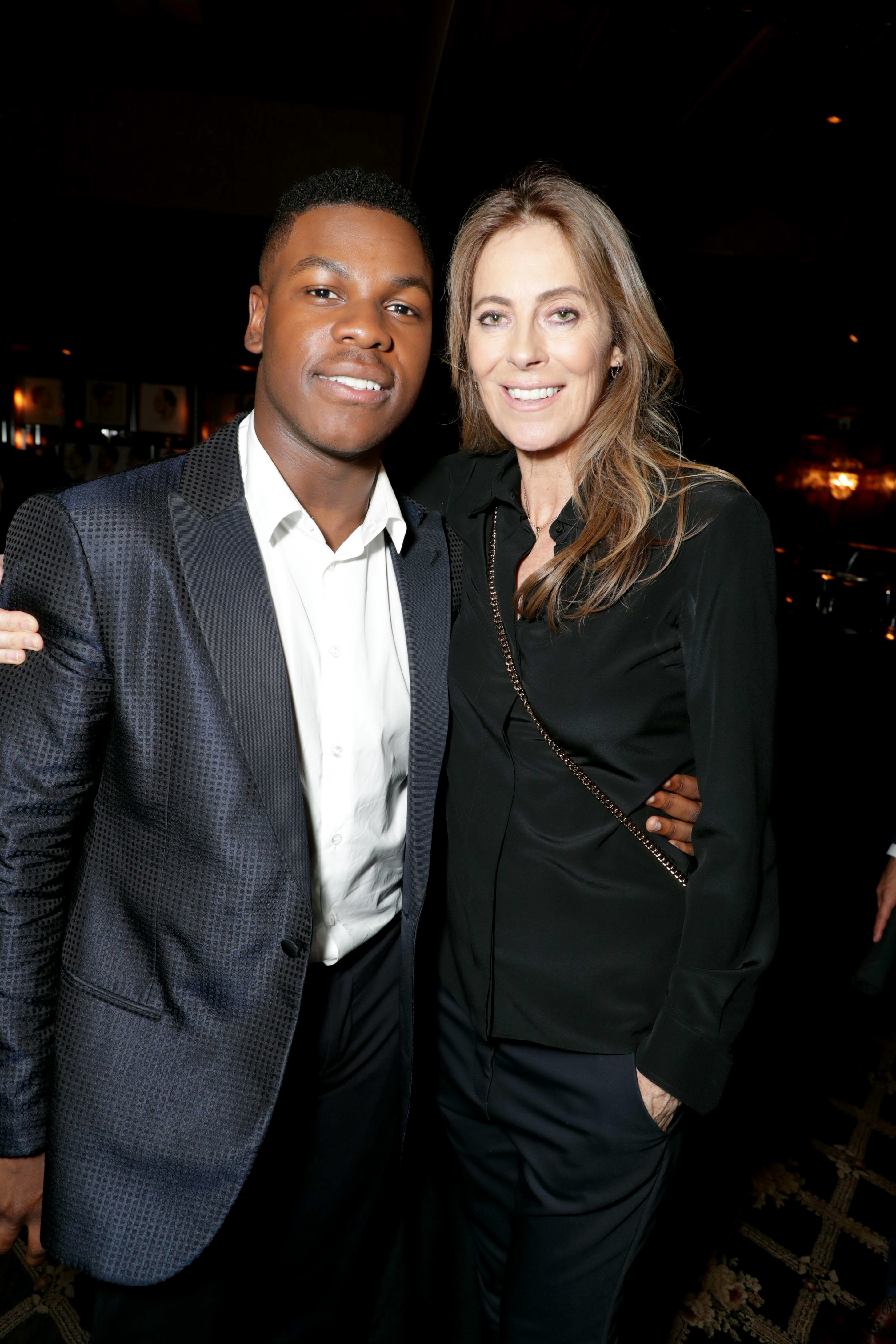 """John Boyega and Director/Producer Kathryn Bigelow attend the """"Detroit"""" after party in Detroit on July 25, 2017."""