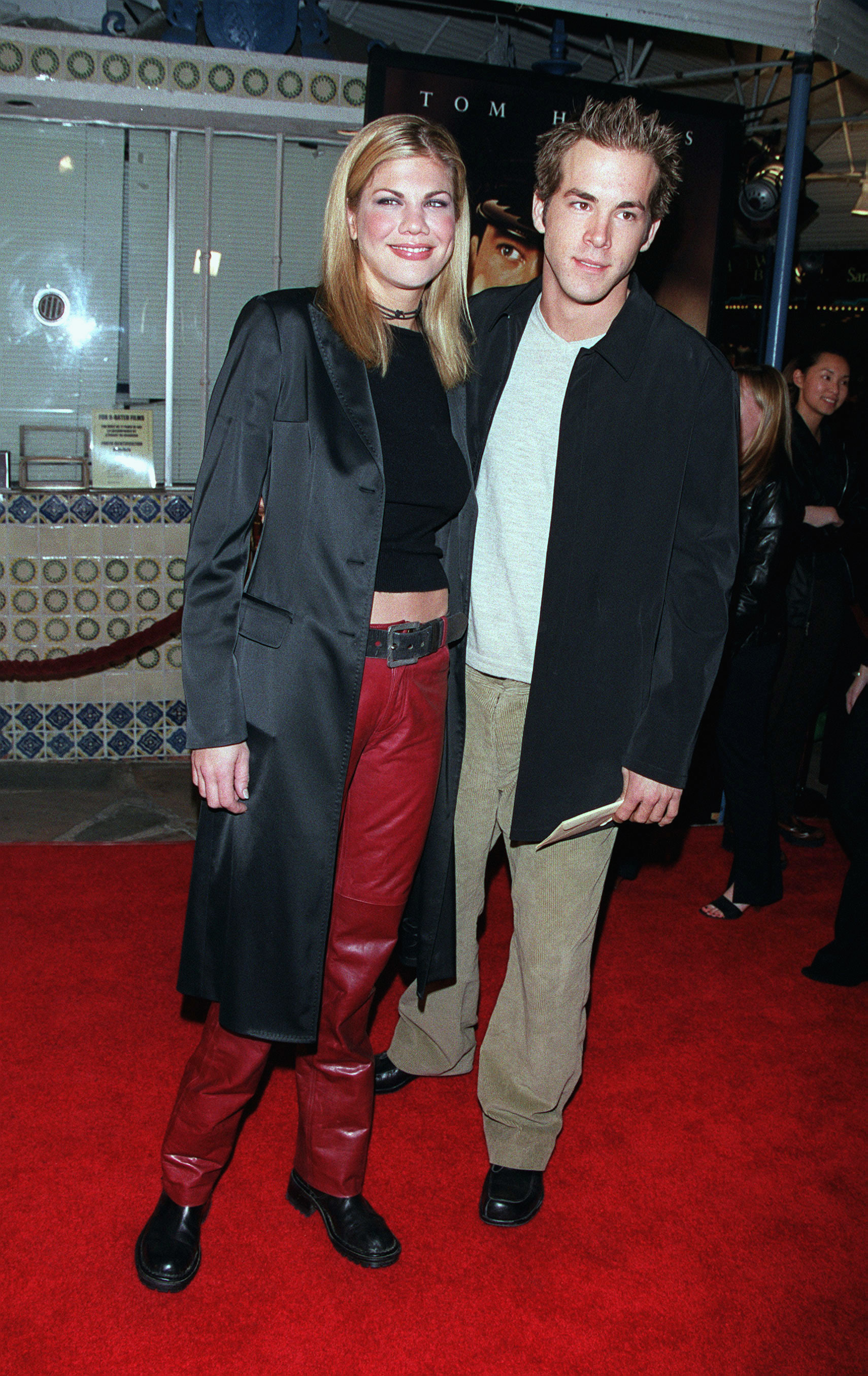 """Kristen Johnson and Ryan Reynolds attend the premiere of """"The Green Mile"""" in Los Angeles on Dec. 6, 1999."""