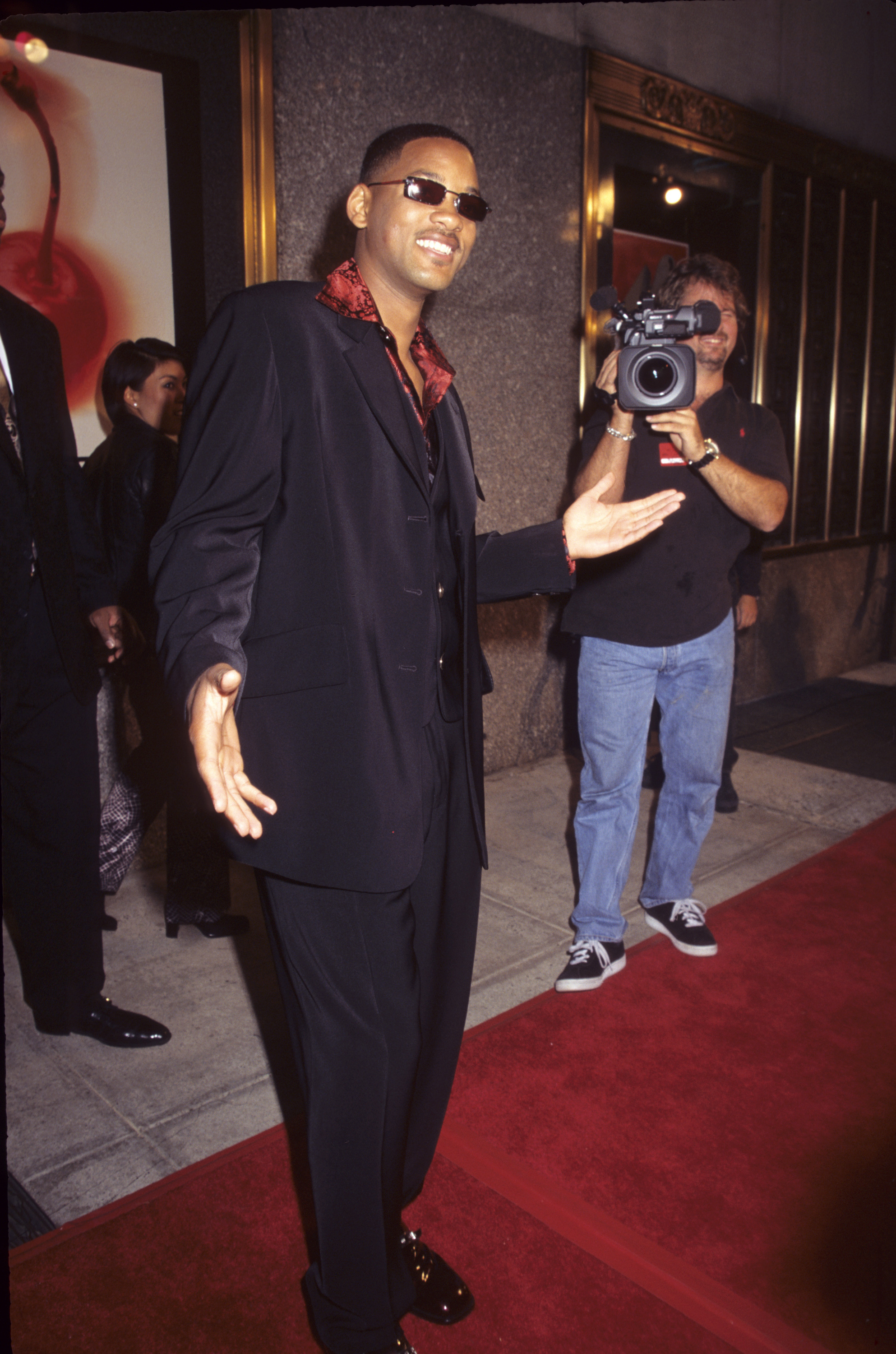 Will Smith attends the 1997 MTV Video Music Awards in New York City on Sept. 6, 1997.