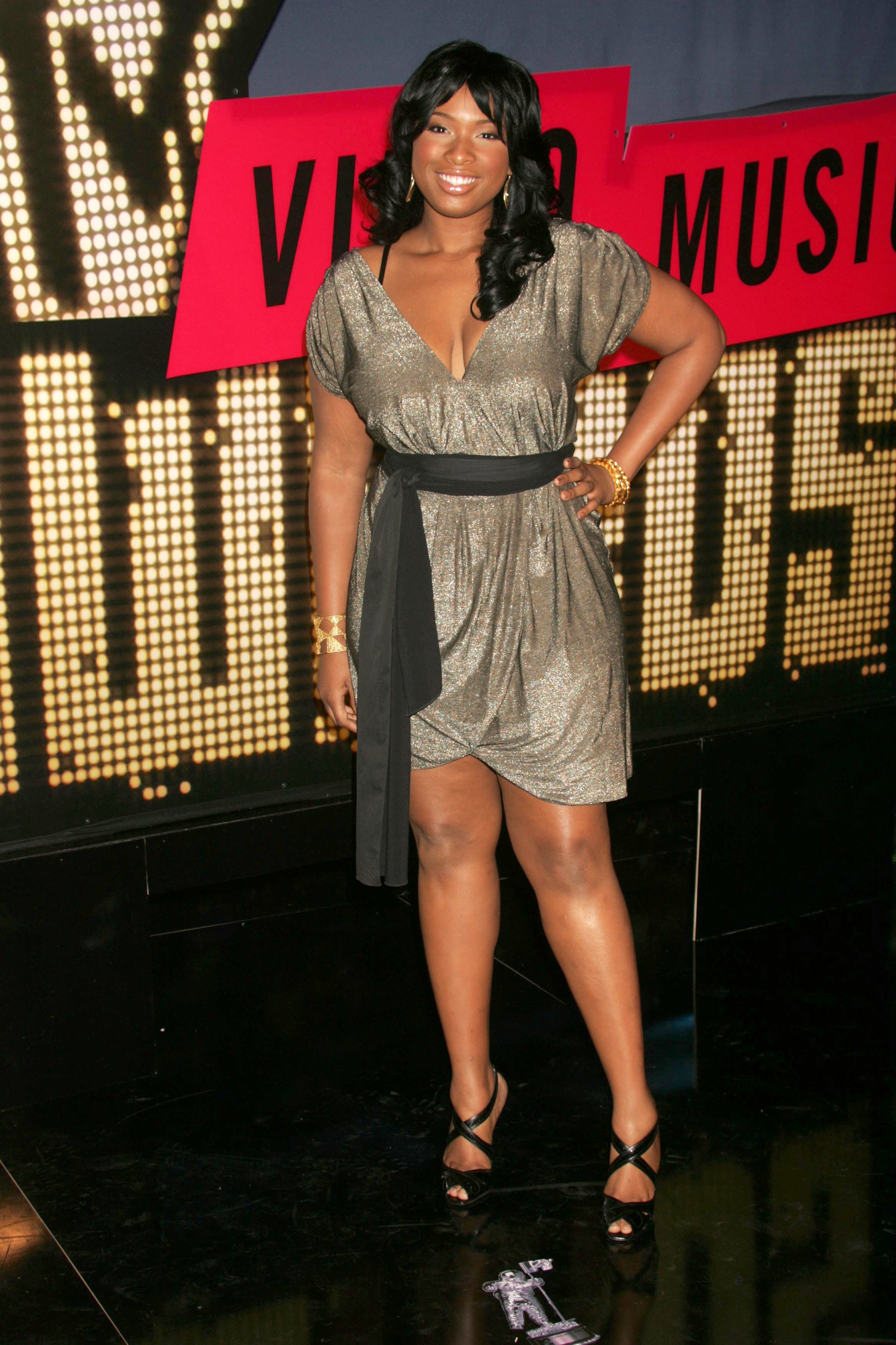 Jennifer Hudson attends the 2007 MTV Video Music Awards at the Palms Hotel and Casino in Las Vegas on Sept. 9, 2007.