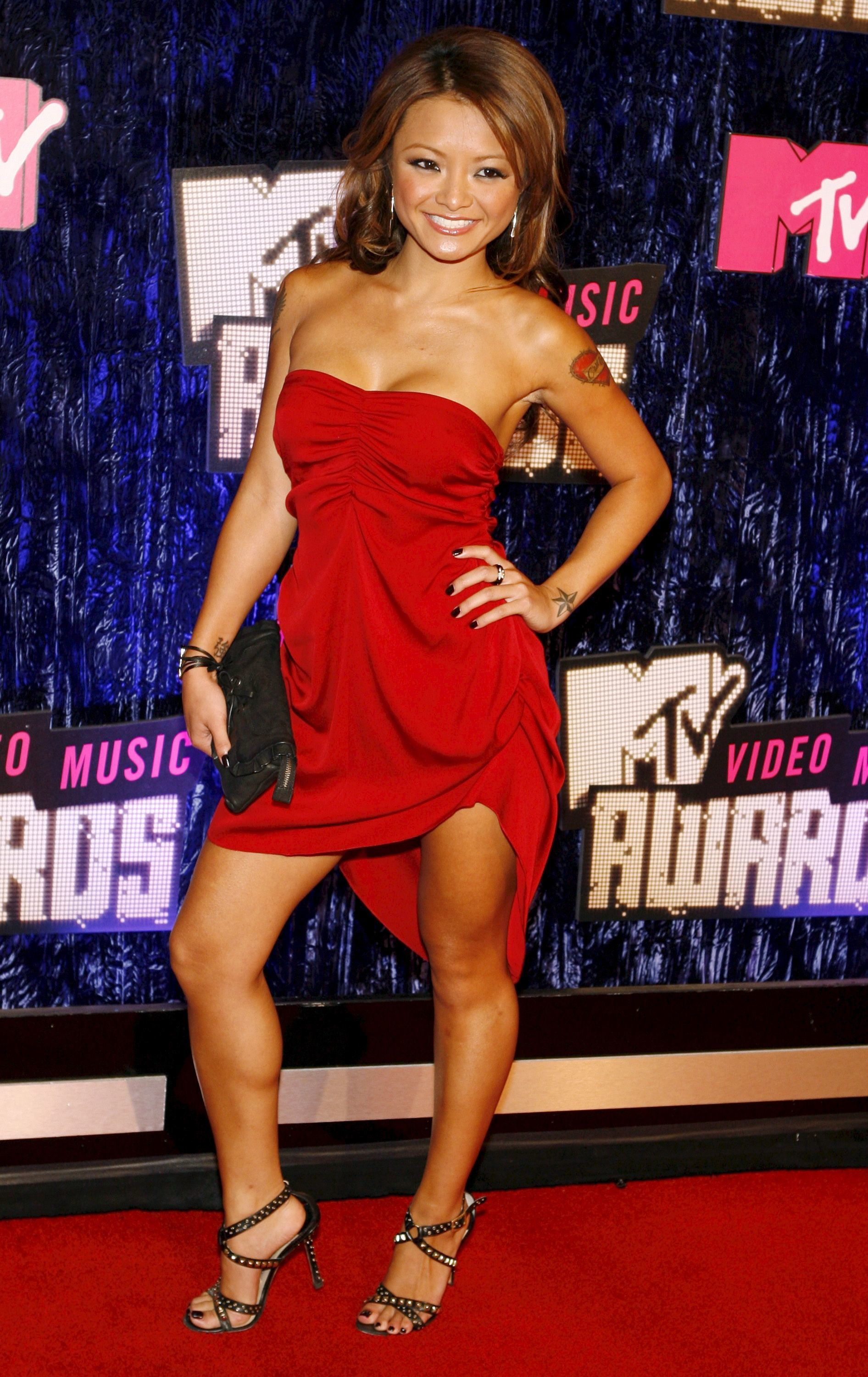 Tila Tequila  attends the 2007 MTV Video Music Awards at the Palms Hotel and Casino in Las Vegas on Sept. 9, 2007.