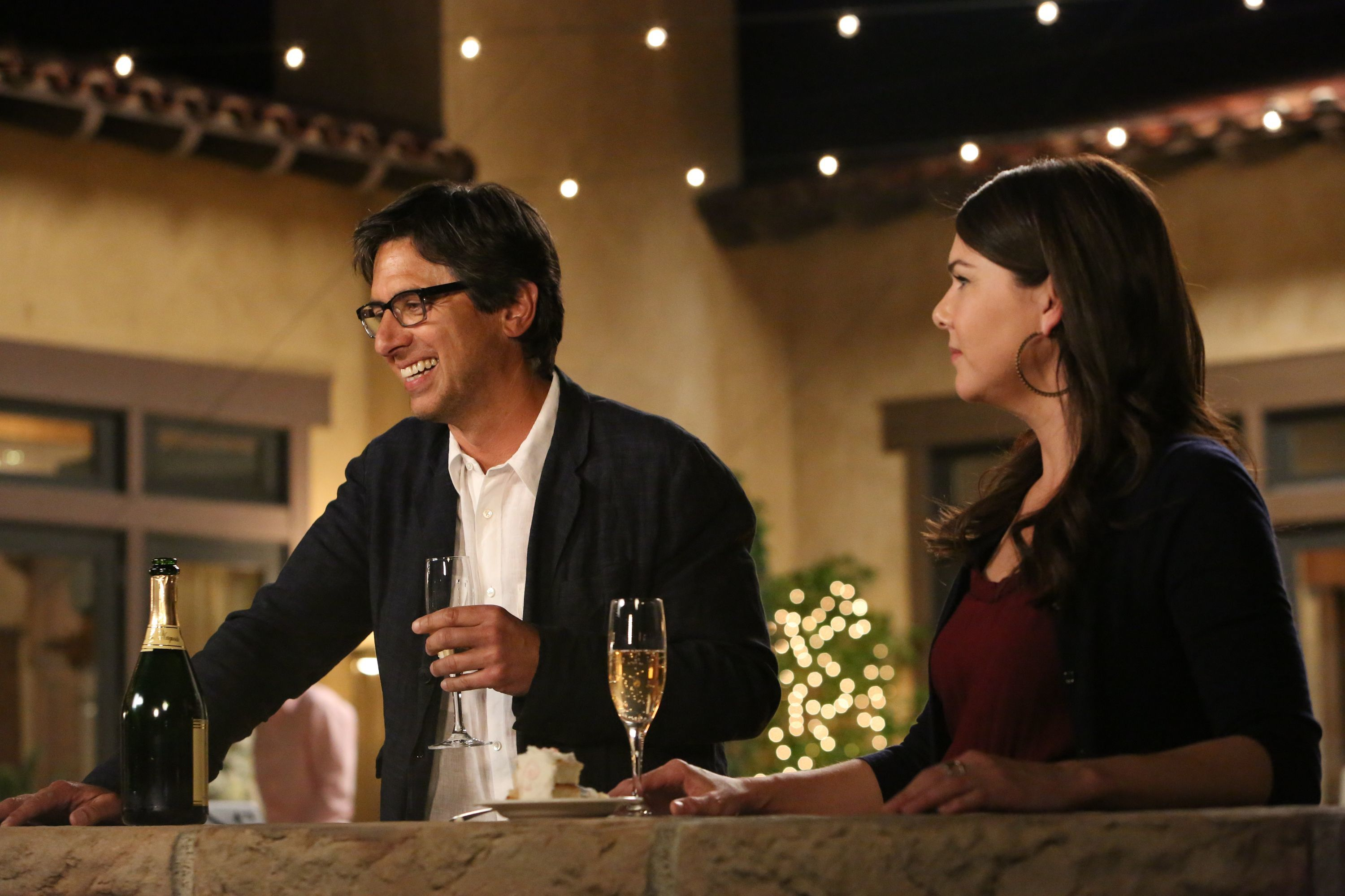 "Ray Romano and Lauren Graham starred on an episode of NBC's ""Parenthood,"" which aired from 2010 to 2015."