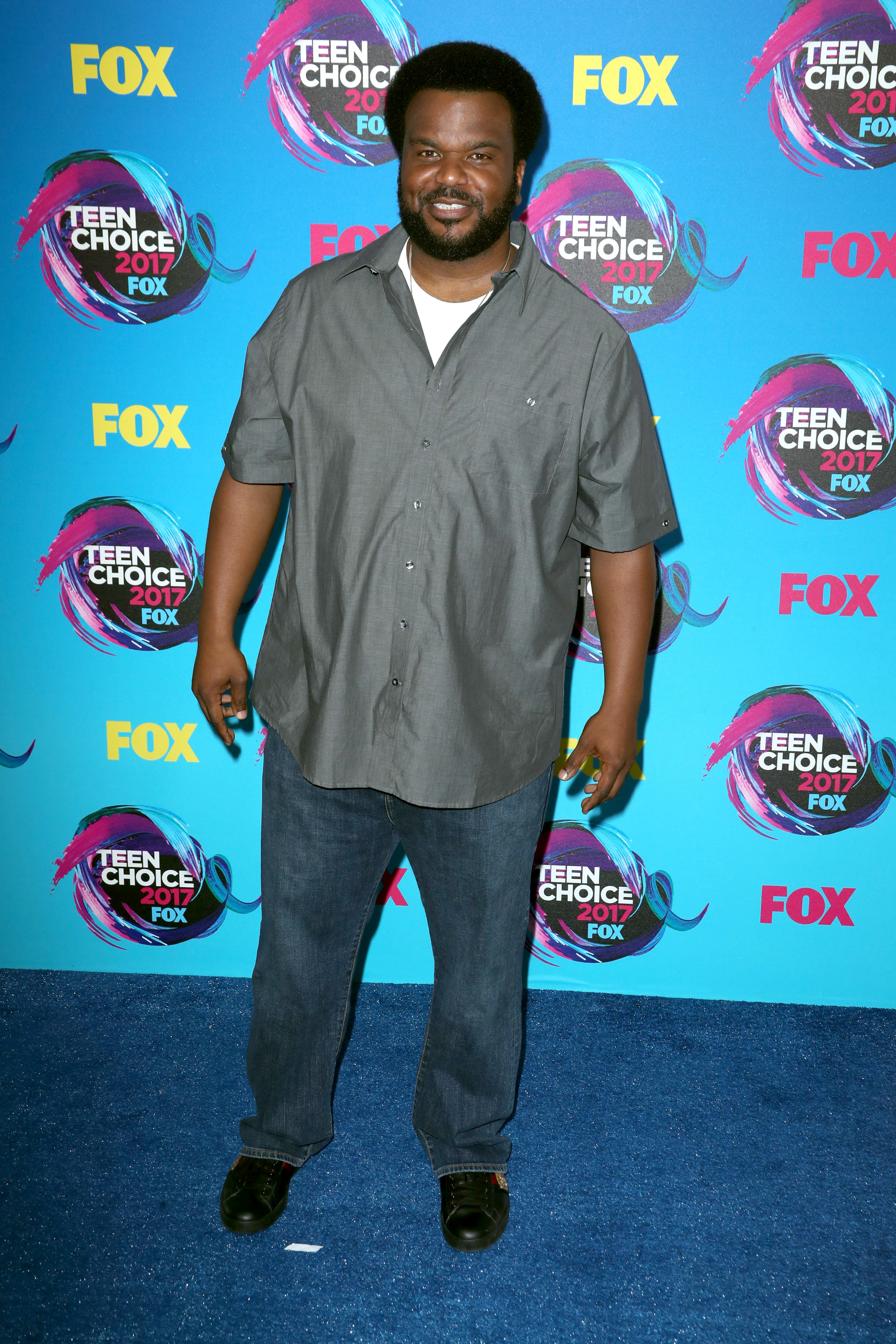 Craig Robinson attends the Teen Choice Awards in Los Angeles on Aug. 13, 2017.