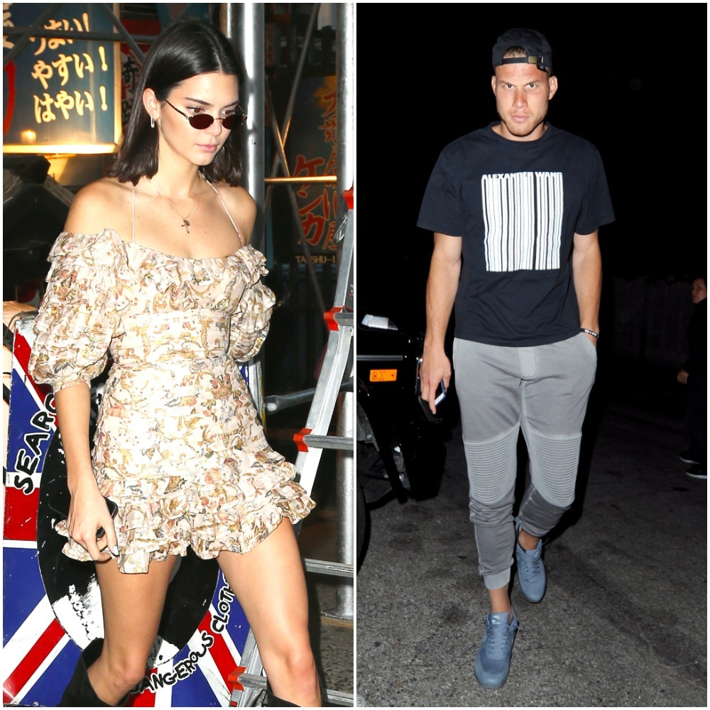 Romance rumors hit Kendall Jenner and Blake Griffin
