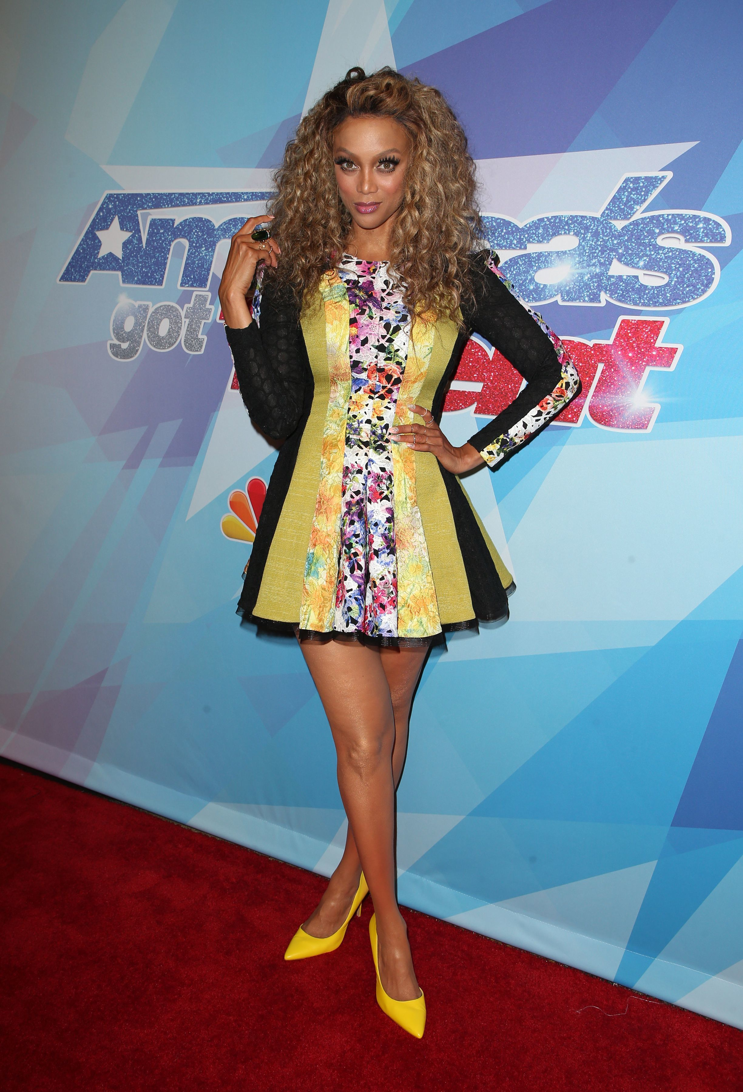 """Tyra Banks attends """"America's Got Talent"""" Season 12 Live Show in Los Angeles on Aug. 15, 2017."""