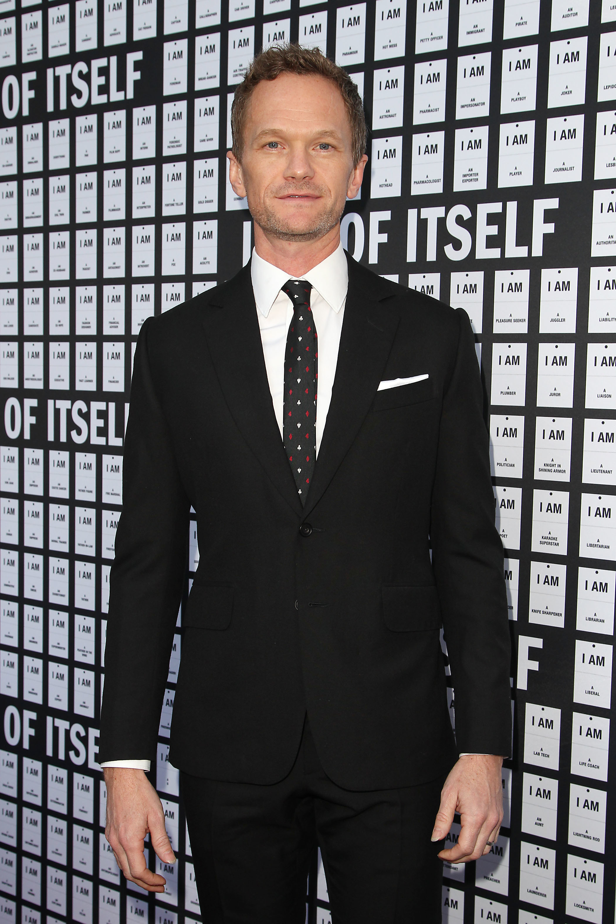 "Neil Patrick Harris attends the ""In & Of Itself"" opening night in New York City on April 12, 2017."