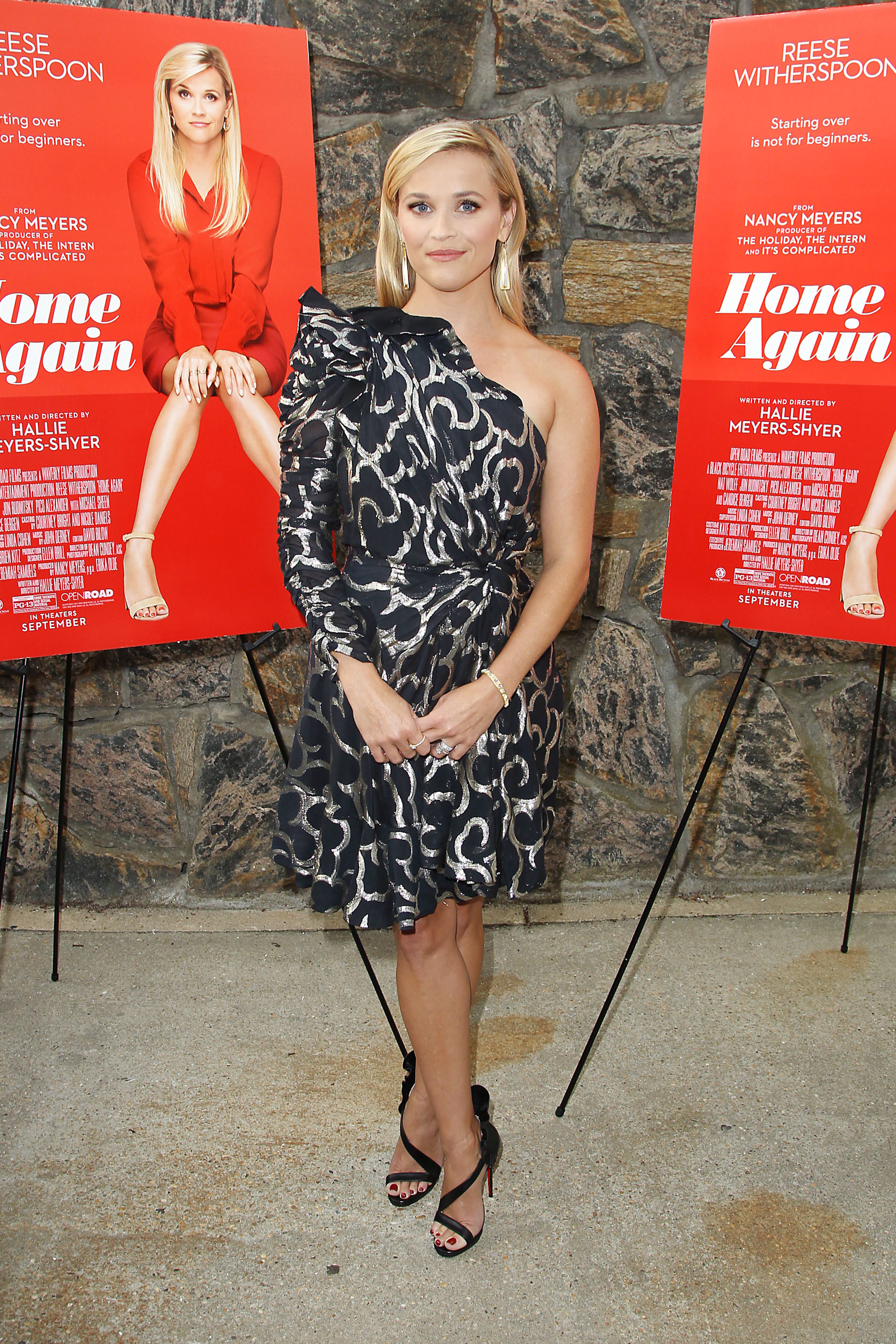 """Reese Witherspoon attends the screening of """"Home Again"""" in East Hampton on Aug. 19, 2017."""