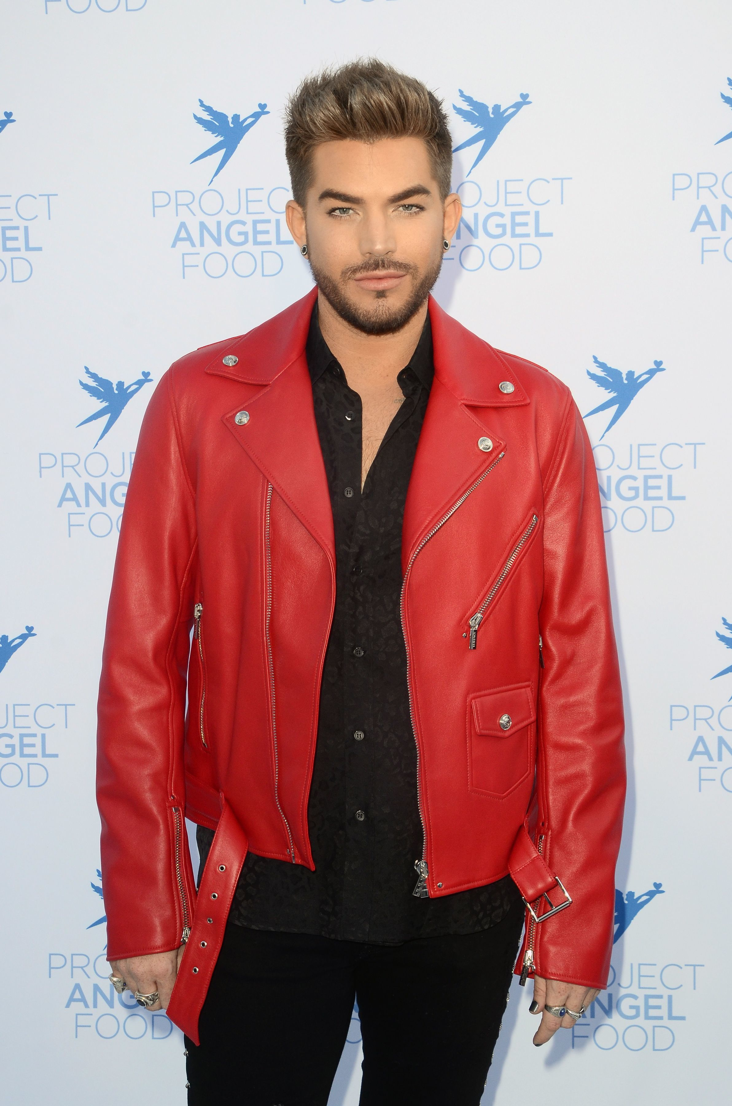 Adam Lambert attends the Project Angel Food Angel Awards Gala in Los Angeles on Aug. 19, 2017.