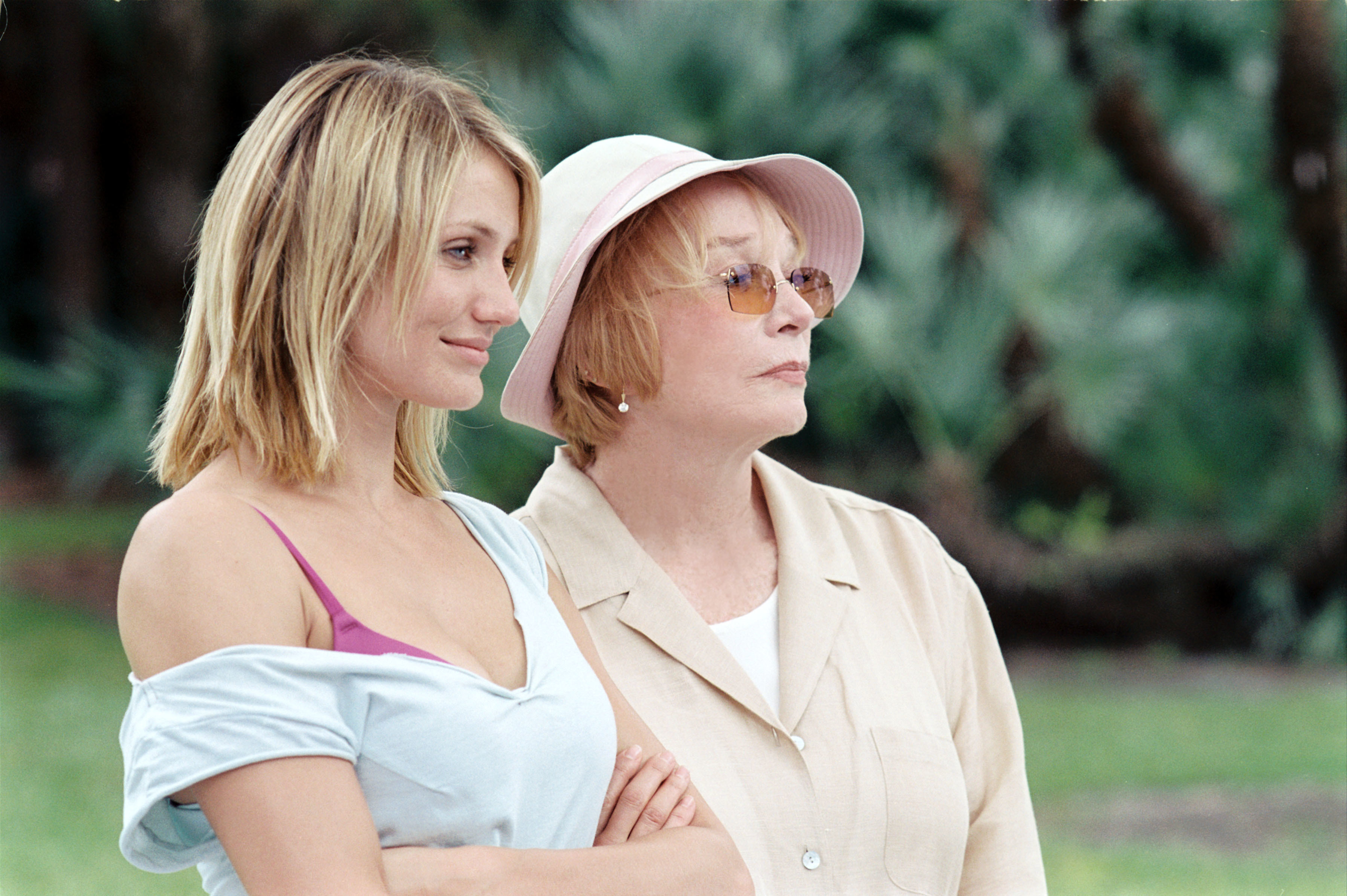 """Cameron Diaz and Shirley Maclaine star in """"In Her Shoes"""" in 2005."""