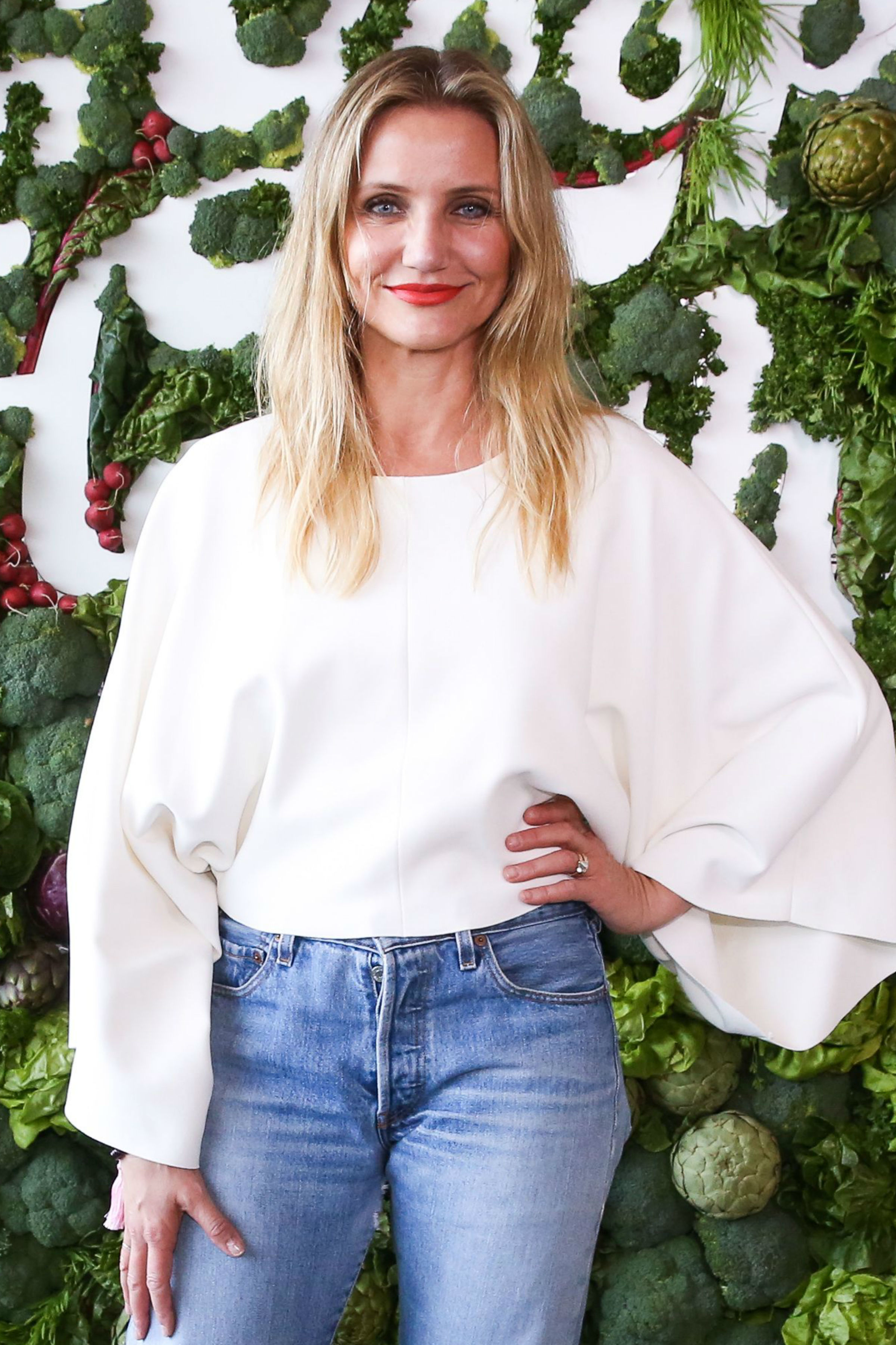 "Cameron Diaz attends the ""In Goop Health"" event in Los Angeles on June 10, 2017."